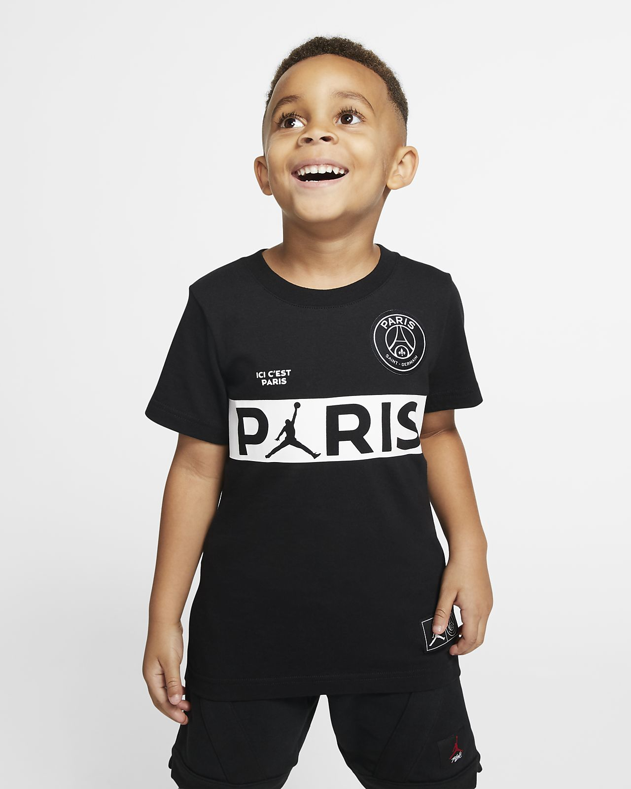 Tee-shirt à manches courtes PSG pour Jeune enfant