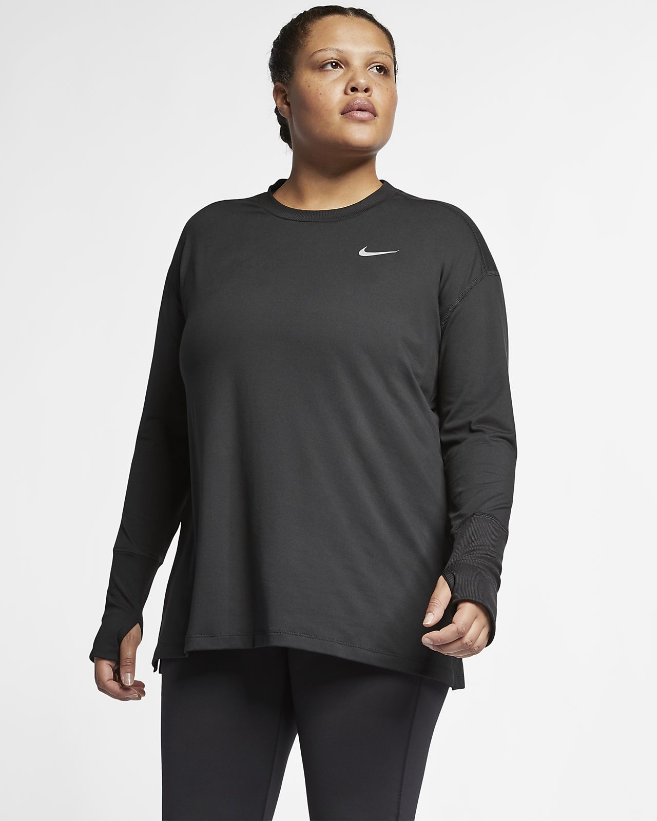 4eab851a53281 Nike Element (Plus Size) Women s Long-Sleeve Running Top. Nike.com AU