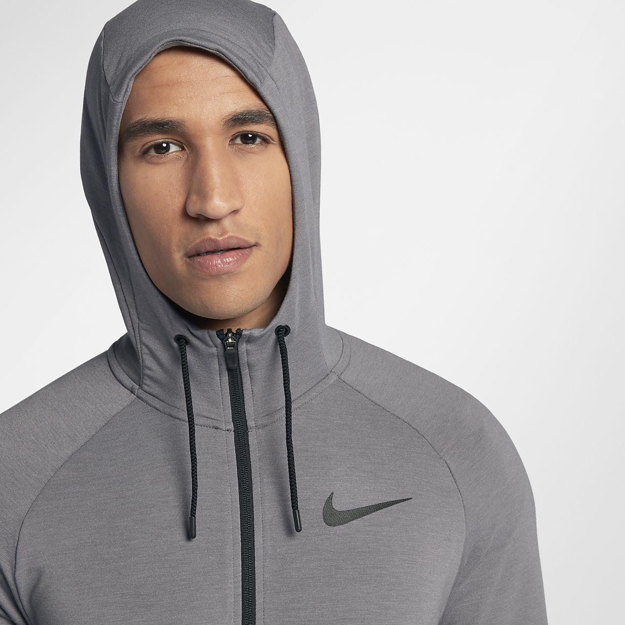 Dri Nike Hombre Capucha Entrenamiento Cremallera Con Sudadera Completa Fit De gv6y7Ybf