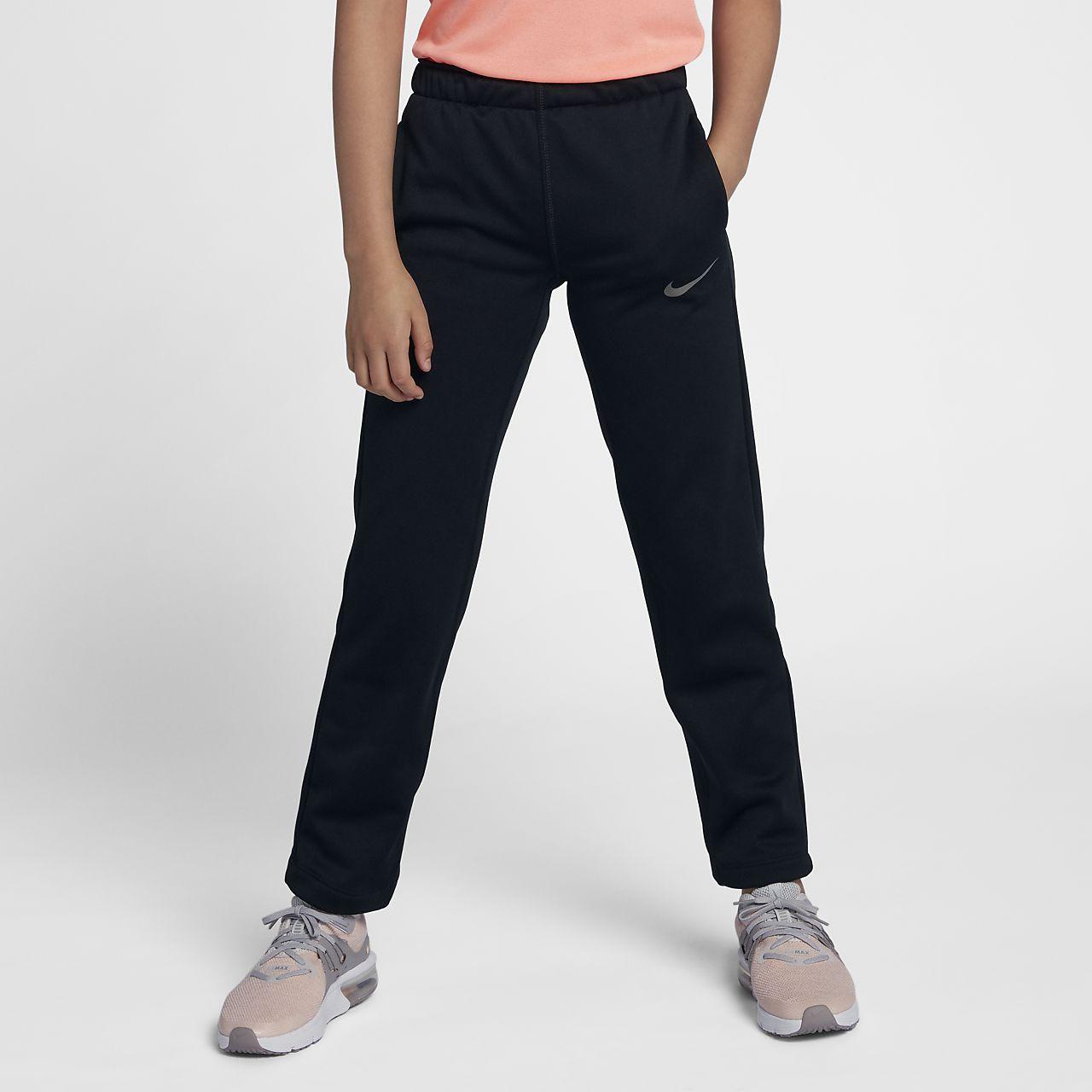 05fc07fff7571a Nike Dri-FIT Therma Big Kids' (Girls') Training Pants. Nike.com