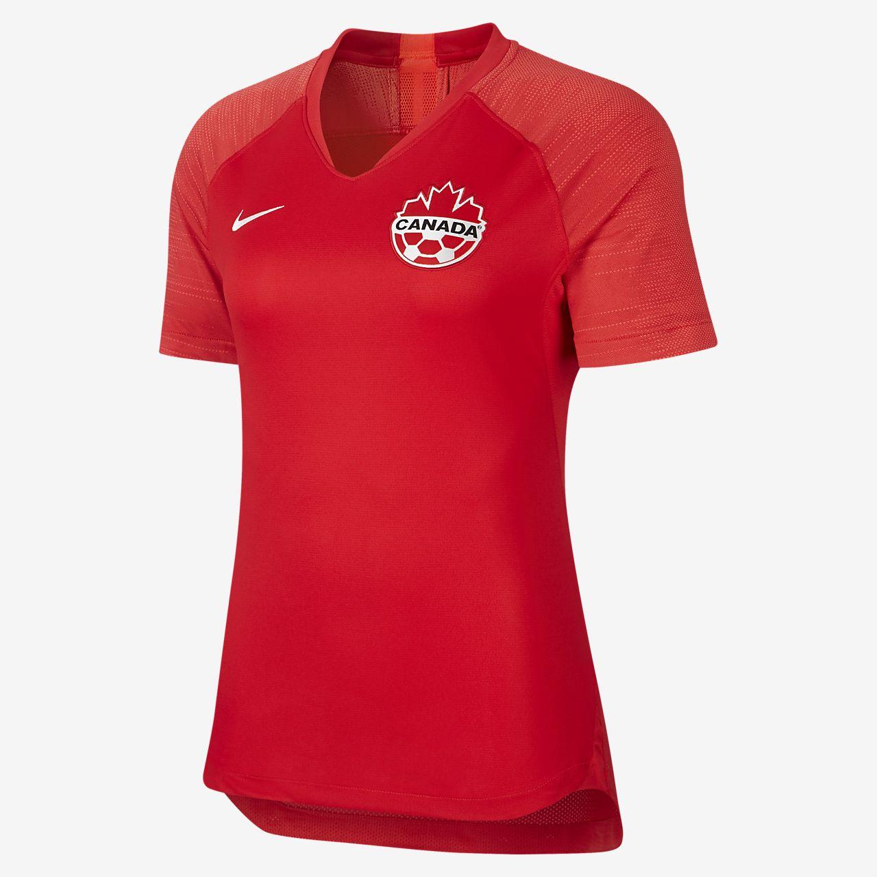 Γυναικεία ποδοσφαιρική φανέλα Canada 2019 Stadium Home