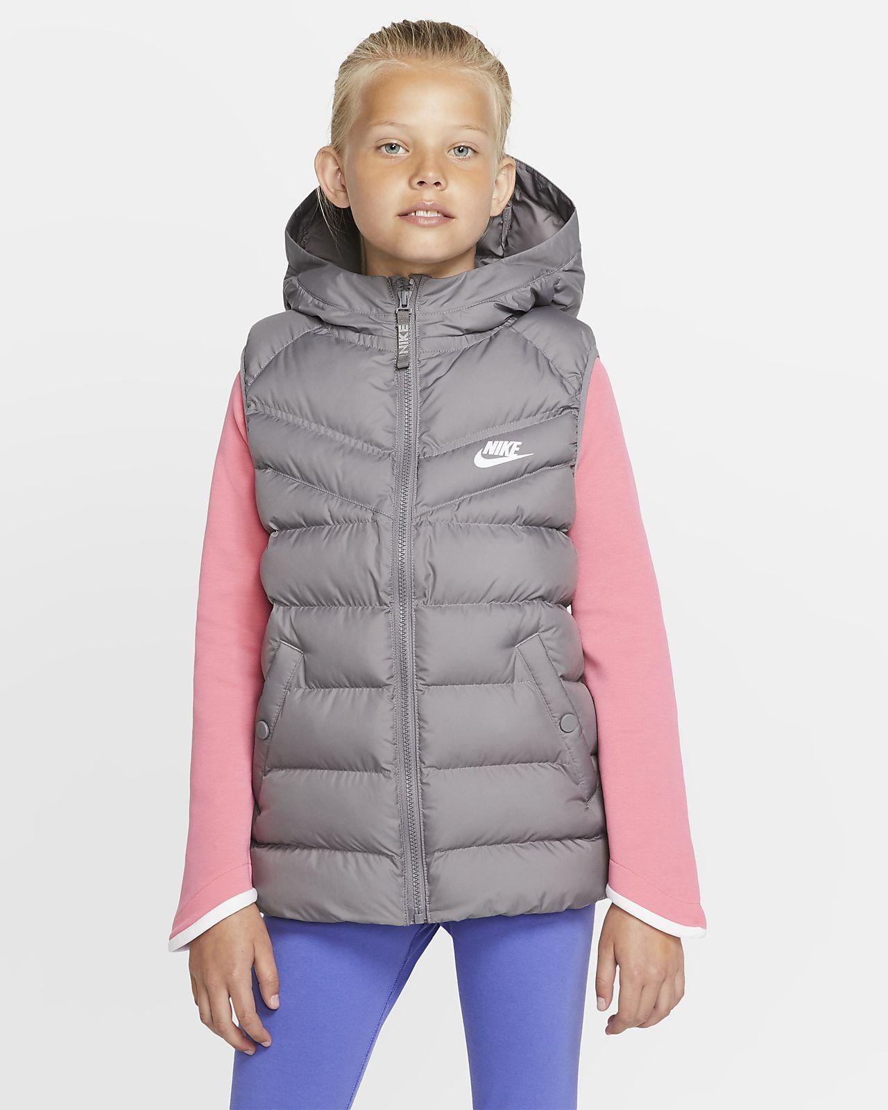 Chaleco con relleno sintético para niños talla grande Nike Sportswear