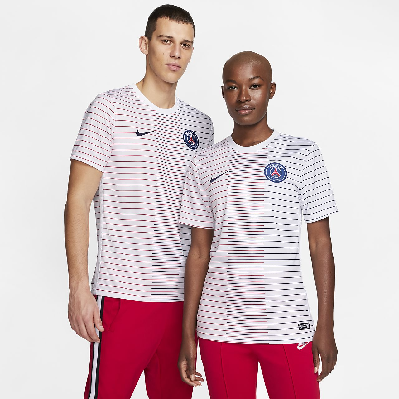 Paris Saint-Germain kortermet fotballtrøye til herre