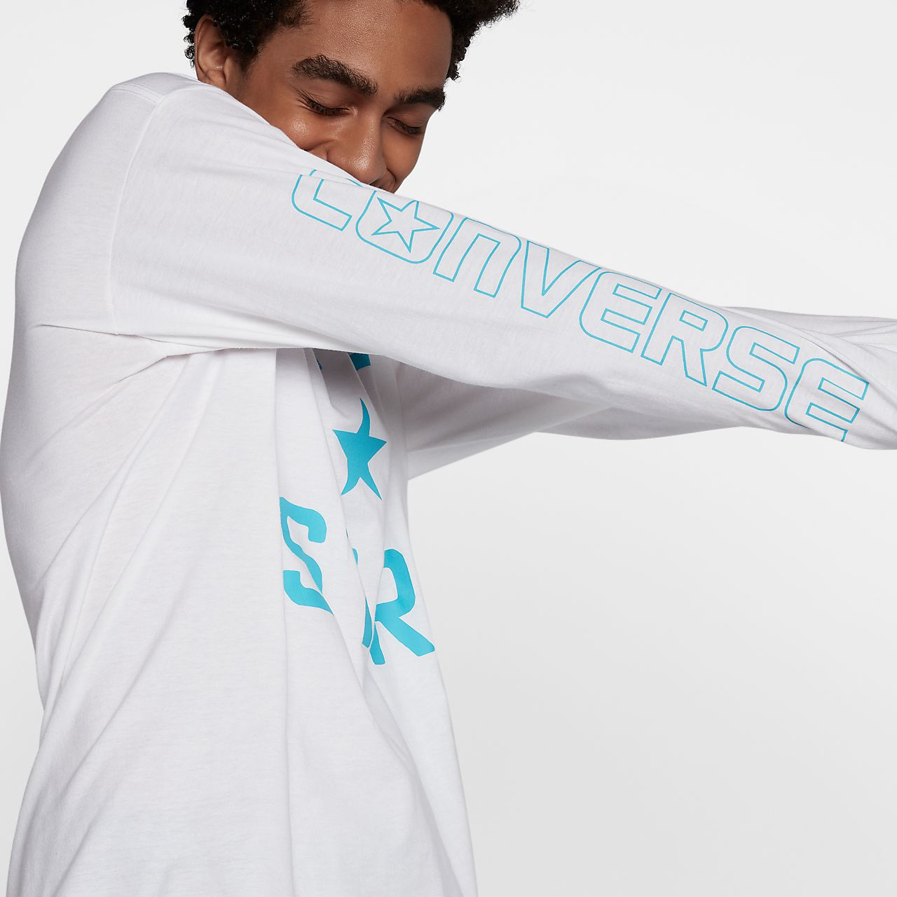 converse one star t shirt