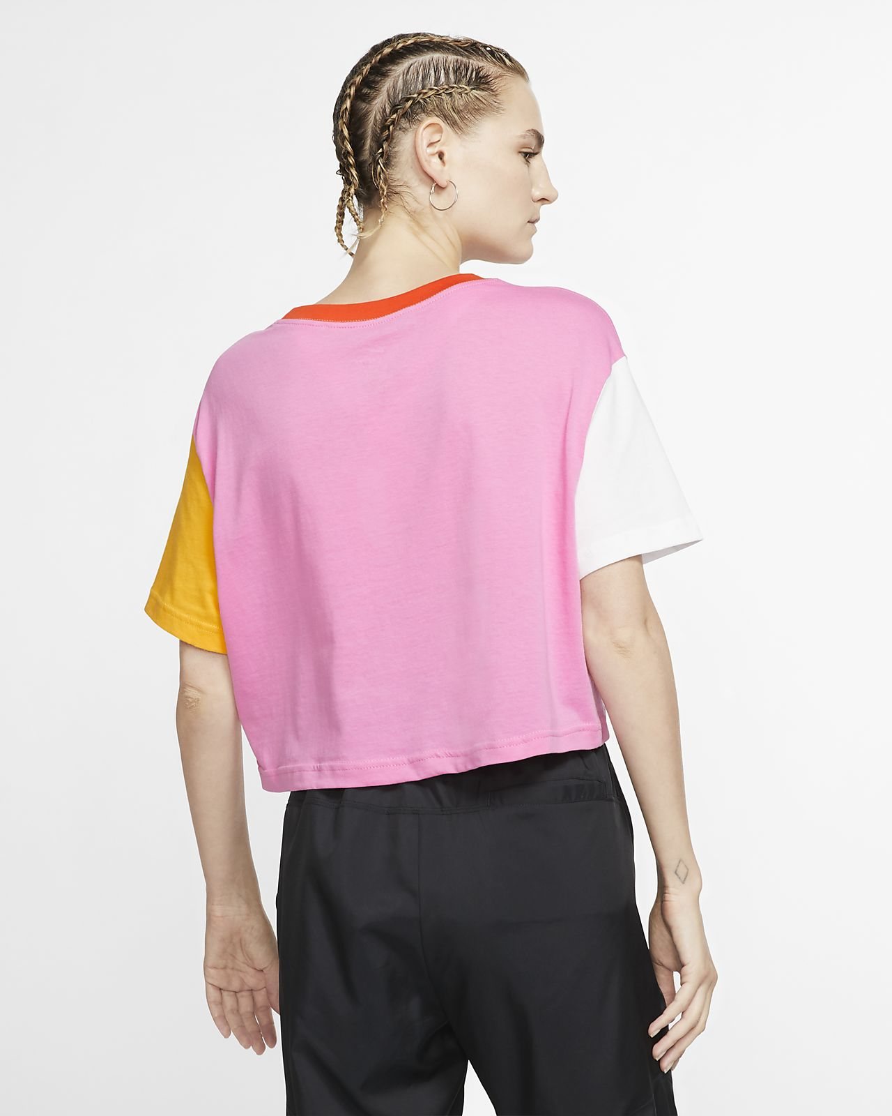 Nike Sportswear Camiseta Corta Sportswear Nike Mujer Corta Mujer Nike Camiseta vnN8m0w