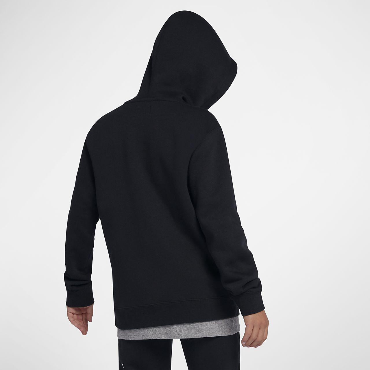 75aefd3e249 ... Αγορίστικη μπλούζα με κουκούλα και φερμουάρ Hurley Surf Check Rip