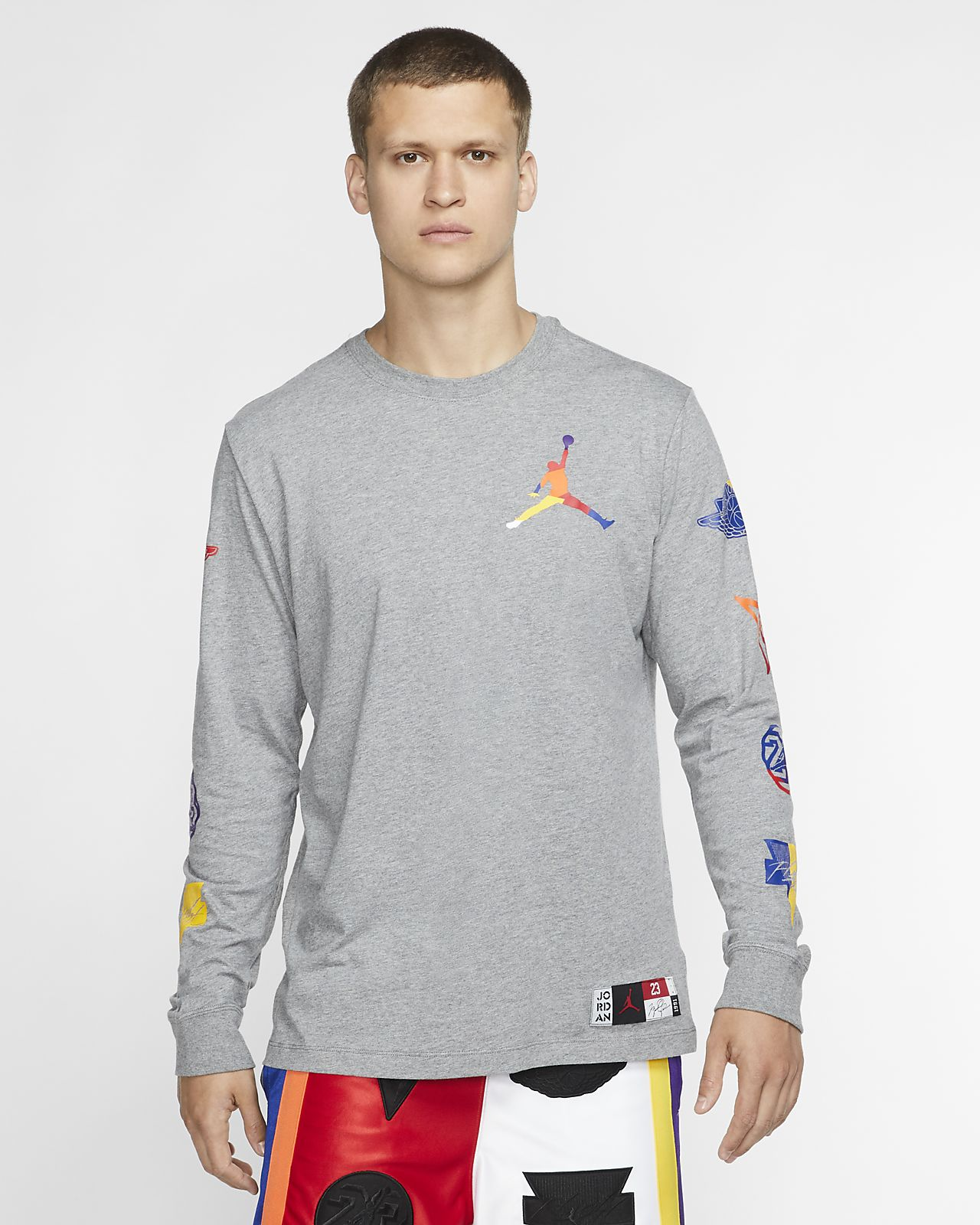Jordan DNA Men's Long-Sleeve Crew