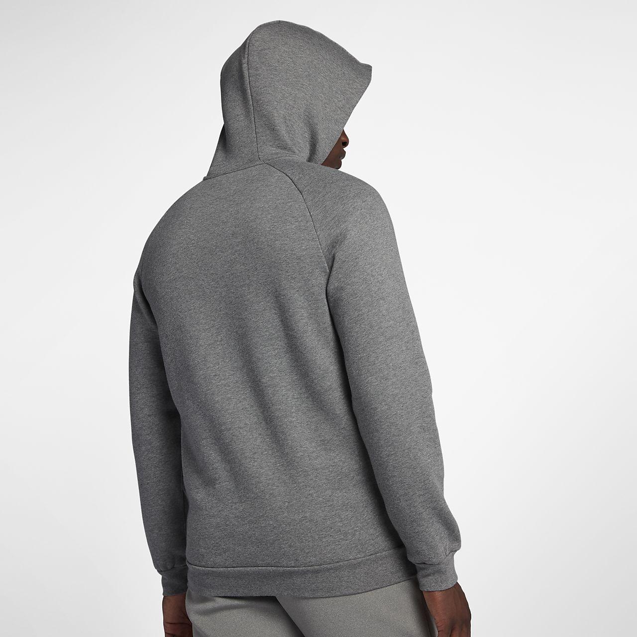 3687510c5905 ... Sweat à capuche entièrement zippé en tissu Fleece Jordan Jumpman pour  Homme