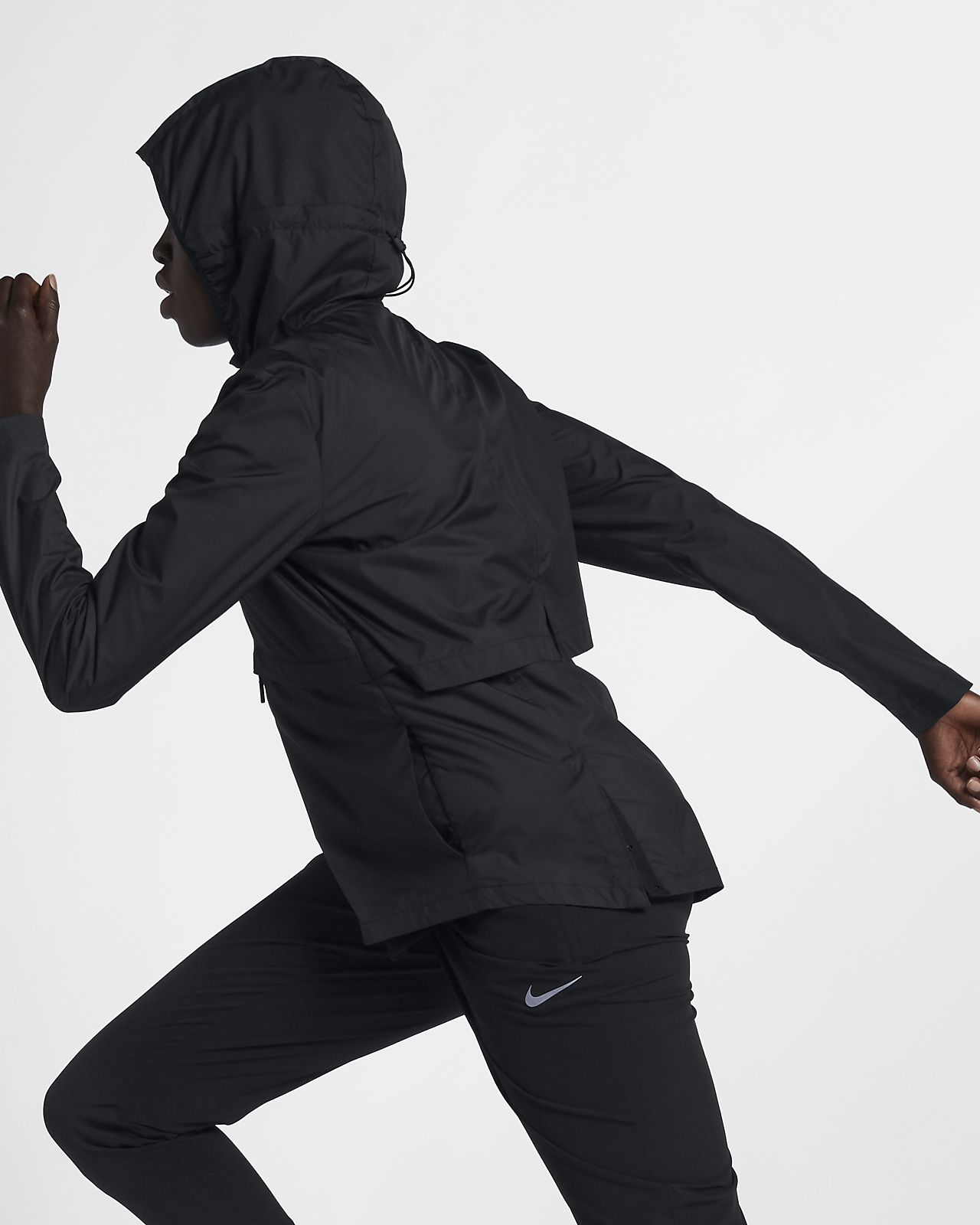 Nike Essential Hooded Running Jacket Vestes course pour