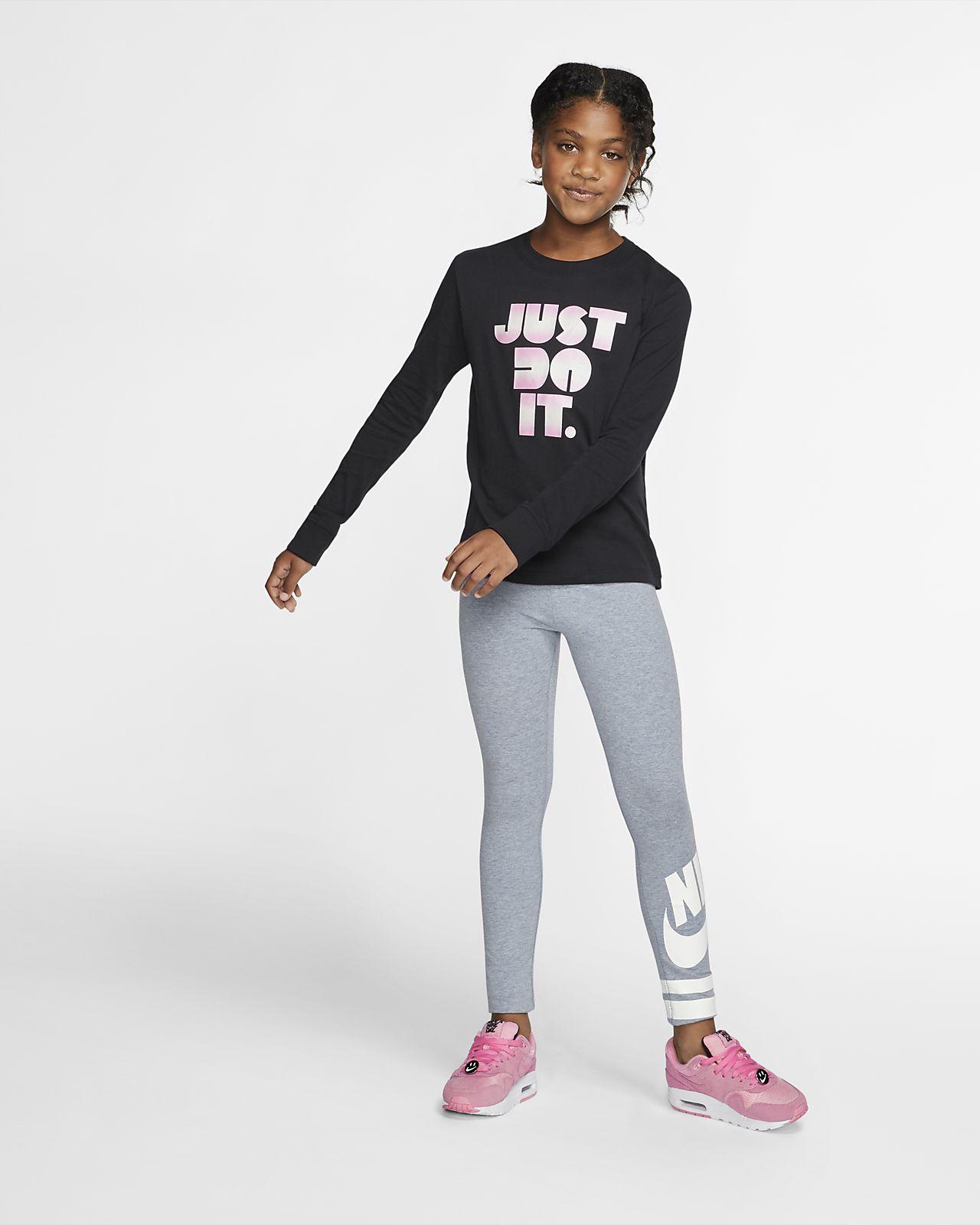 ee6dc7f4 Nike Sportswear Big Kids' Long-Sleeve JDI T-Shirt. Nike.com