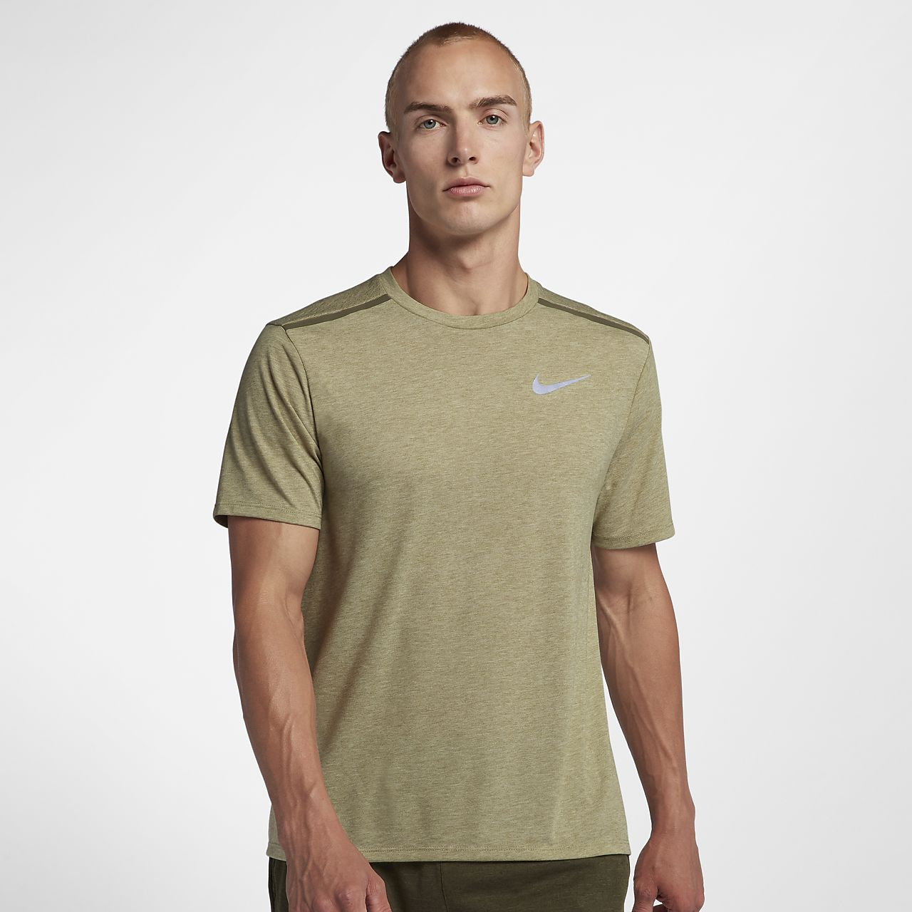 7010907e3759d Nike Dri-FIT Rise 365 Men s Short Sleeve Running Top. Nike.com