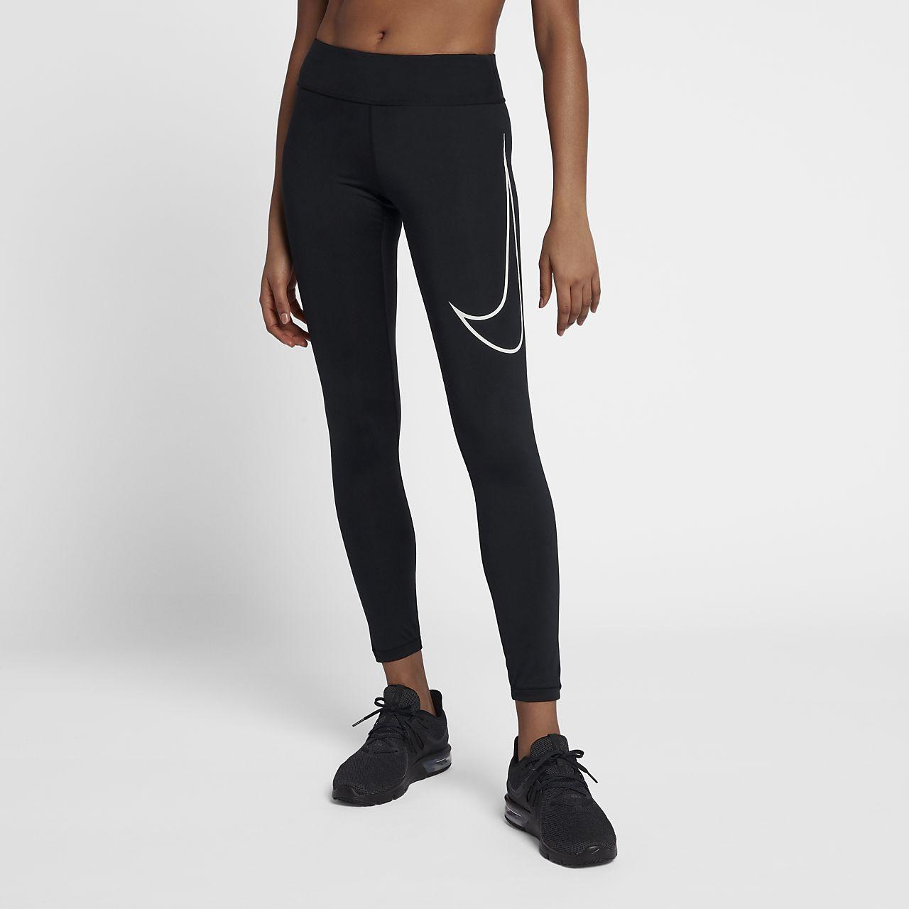 Nike Dri-Fit Essential Tights Sportswear for Women Shop Womens Sportswear COLOUR-black