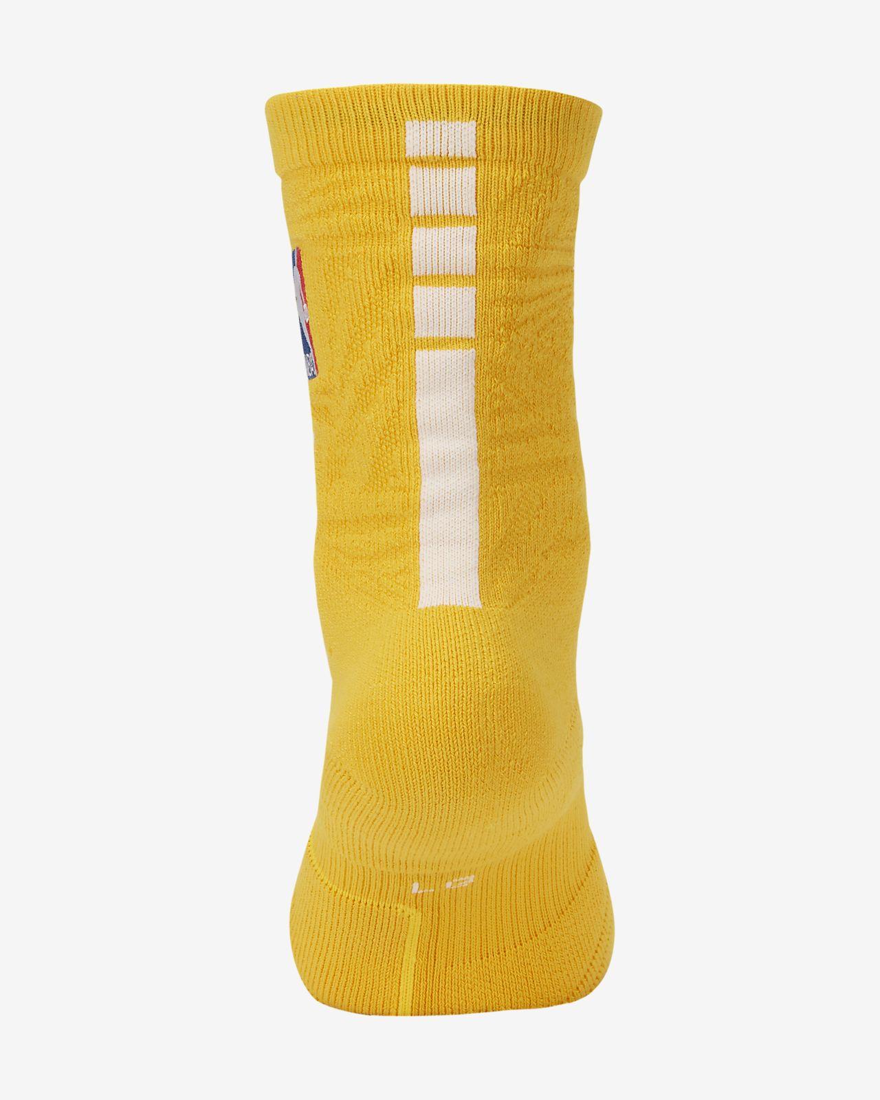 Lakers City Edition Nike Elite NBA Crew Socks