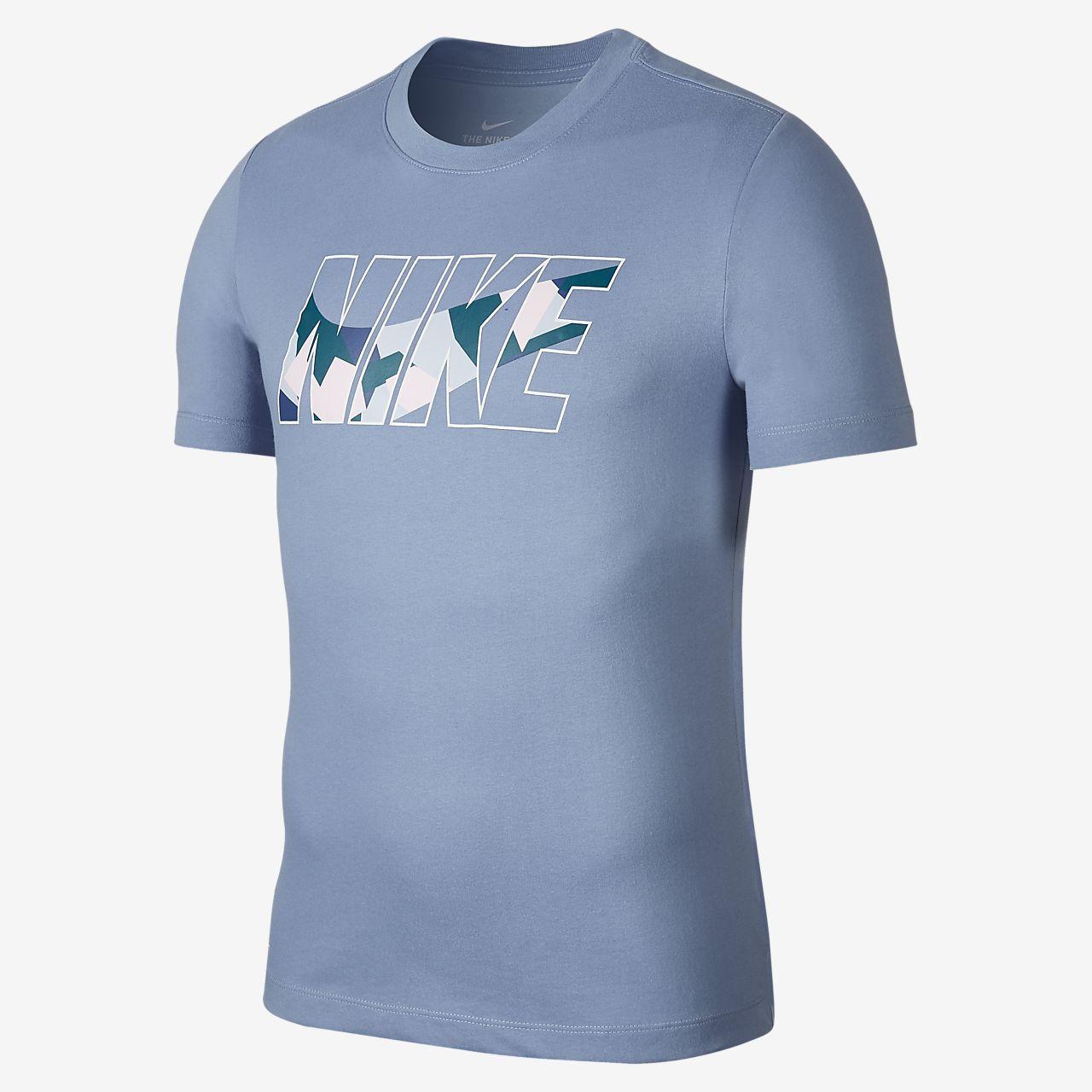 Nike Dri-FIT 男款迷彩訓練 T 恤