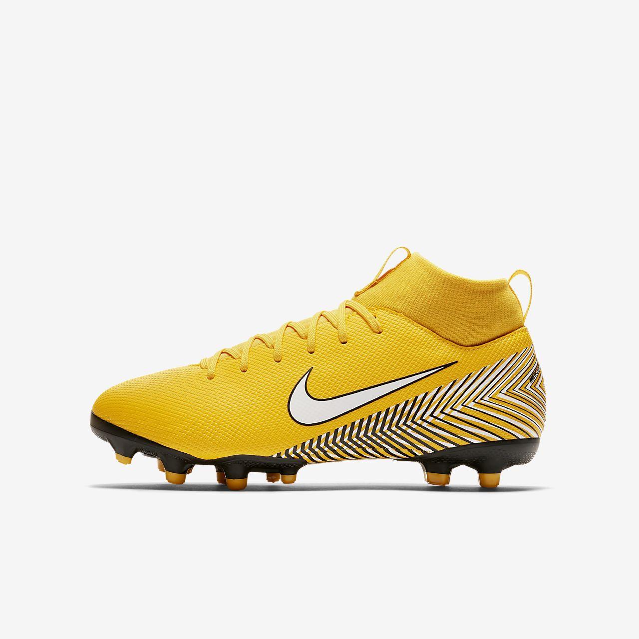 Chaussure de football multi terrains à crampons Nike Jr. Mercurial