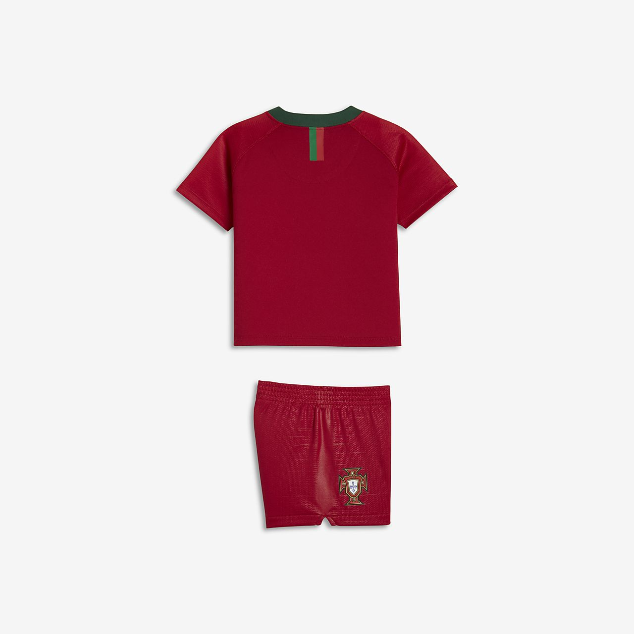 7c739baf9a4 2018 Portugal Stadium Home Baby  amp  Toddler Football Kit. Nike.com CA