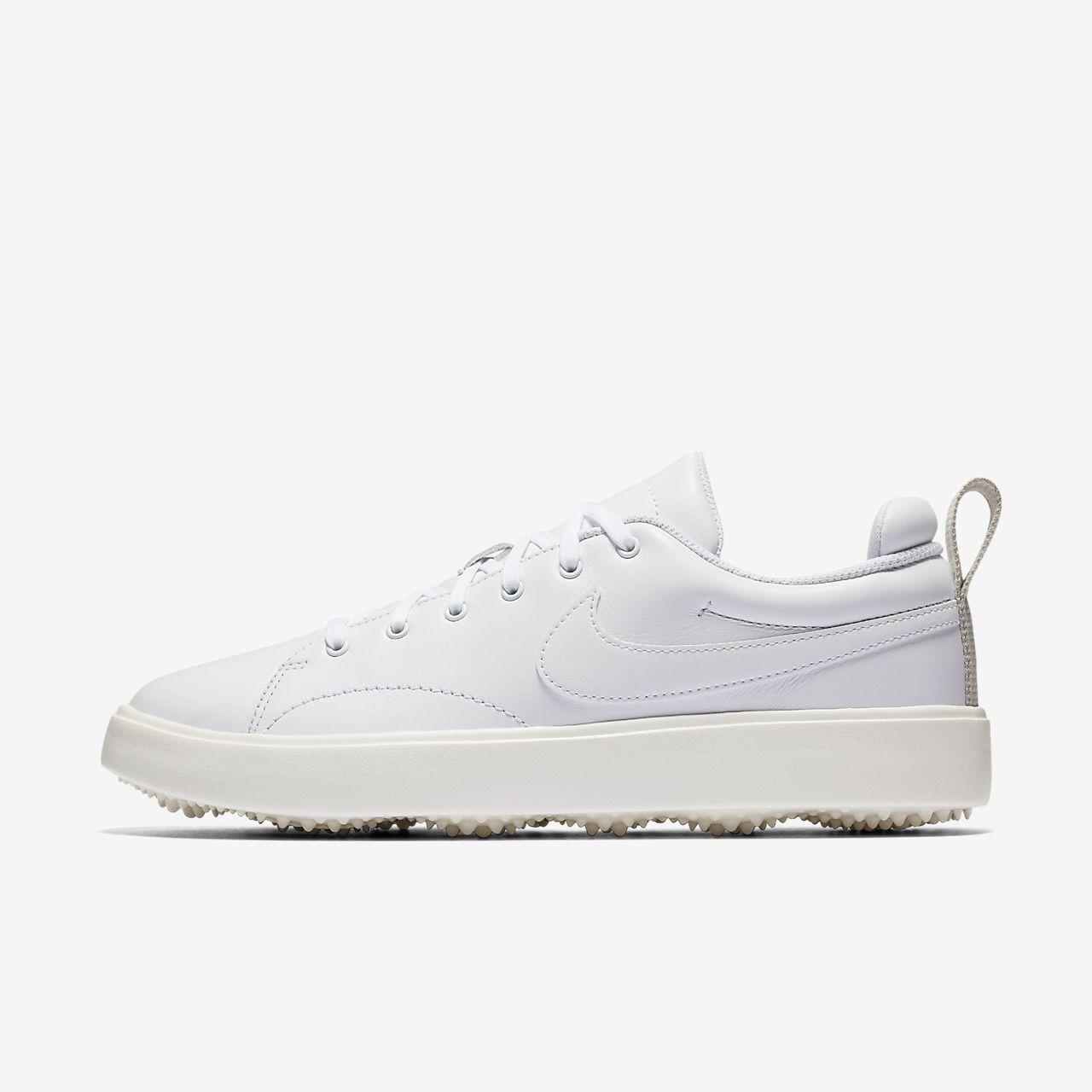 Nike Performance COURSE CLASSIC - Golf shoes - white/sail/black l4UXReKqnN