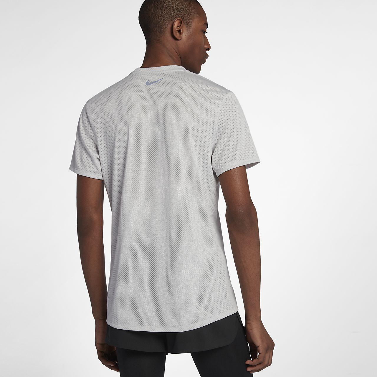 ... Nike Dri-FIT Miler Cool Men's Short-Sleeve Running Top