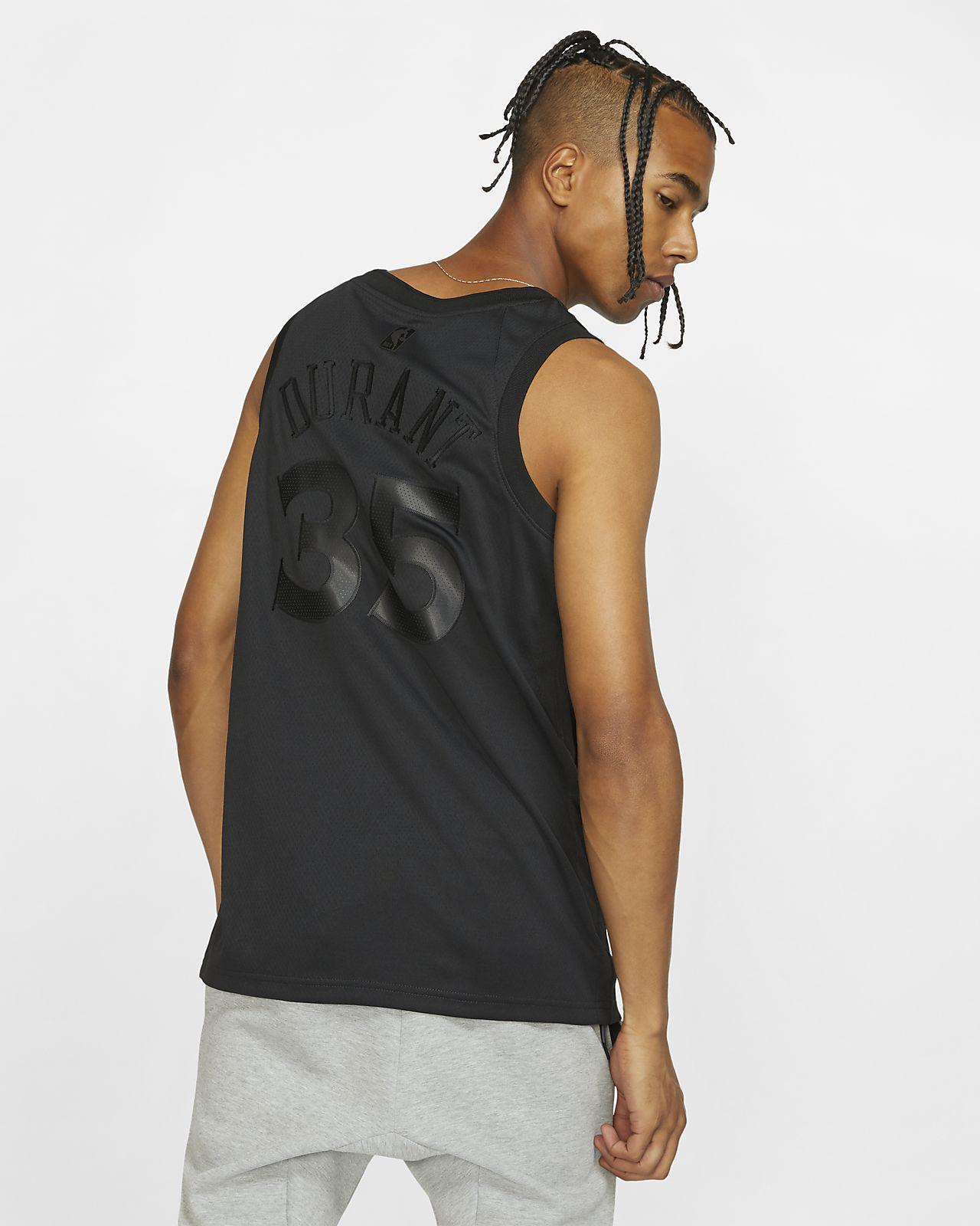 9cd687607b6 ... Camiseta conectada Nike NBA para hombre Kevin Durant MVP Swingman  (Golden State Warriors)