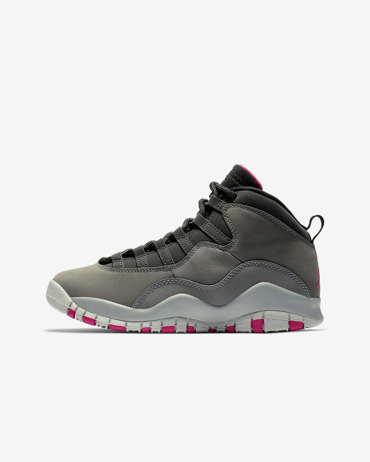 Air Jordan 10 Retro Big Kids  Basketball Shoe . Nike.com a74f4f0b3