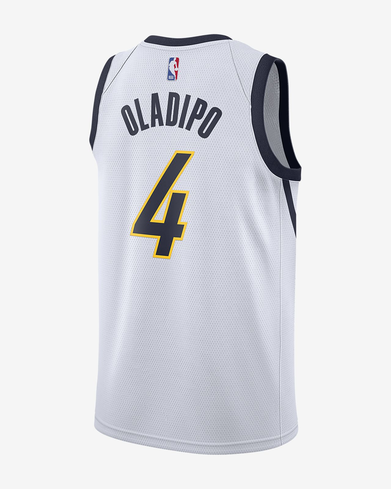 3dd8f45999642 ... Jersey conectada Nike NBA para hombre Victor Oladipo Earned City  Edition Swingman (Indiana Pacers)