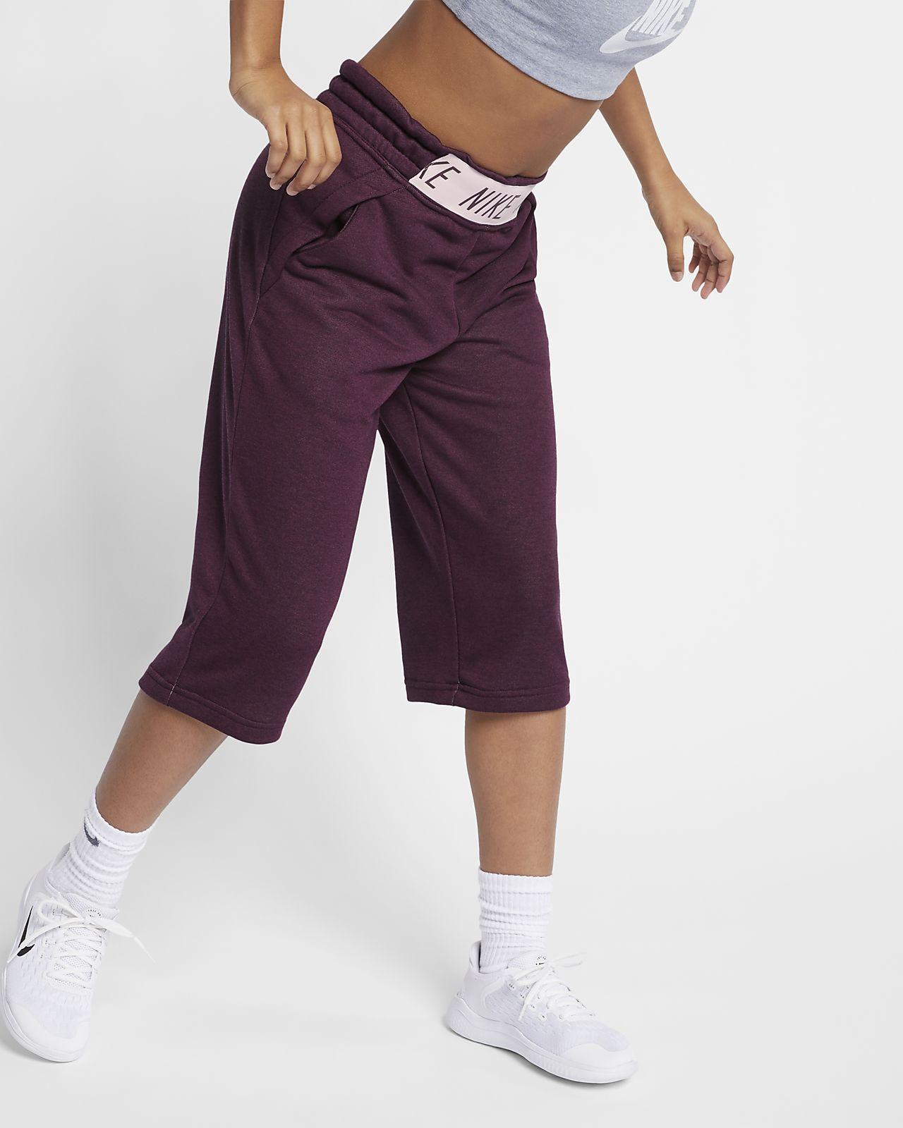 Träningsbyxor i culottemodell Nike för ungdom (tjejer)