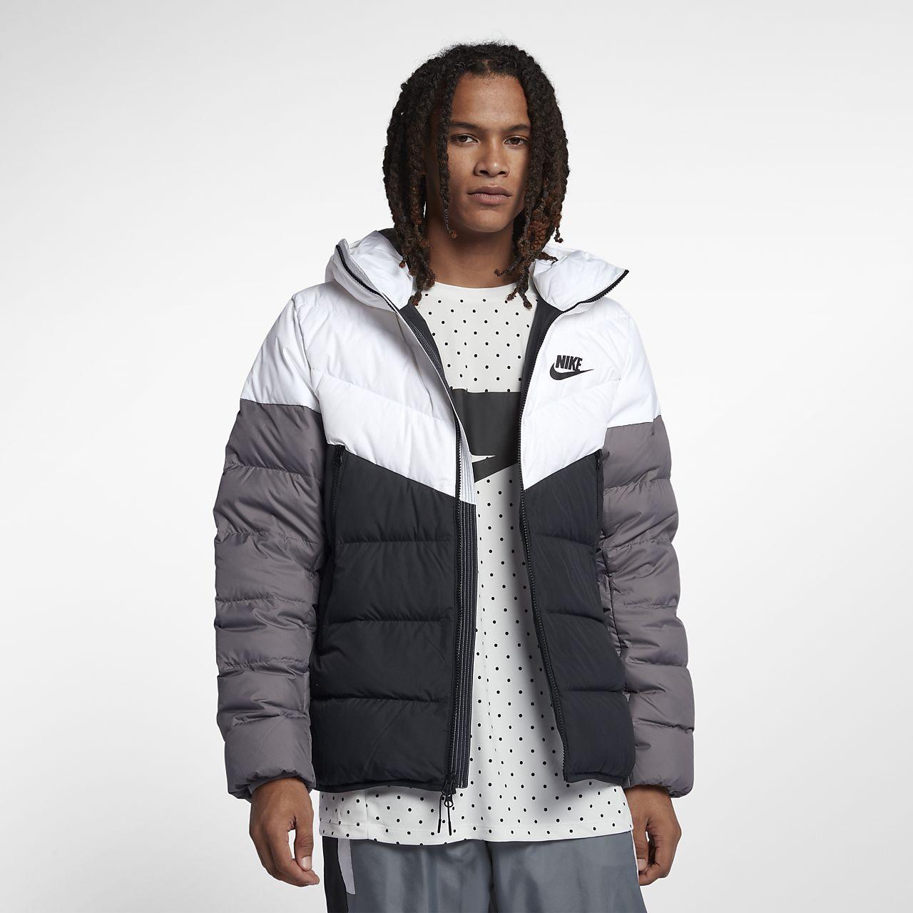 premium selection 00111 61c73 Giacca con cappuccio in piumino Nike Sportswear Windrunner Down Fill - Uomo