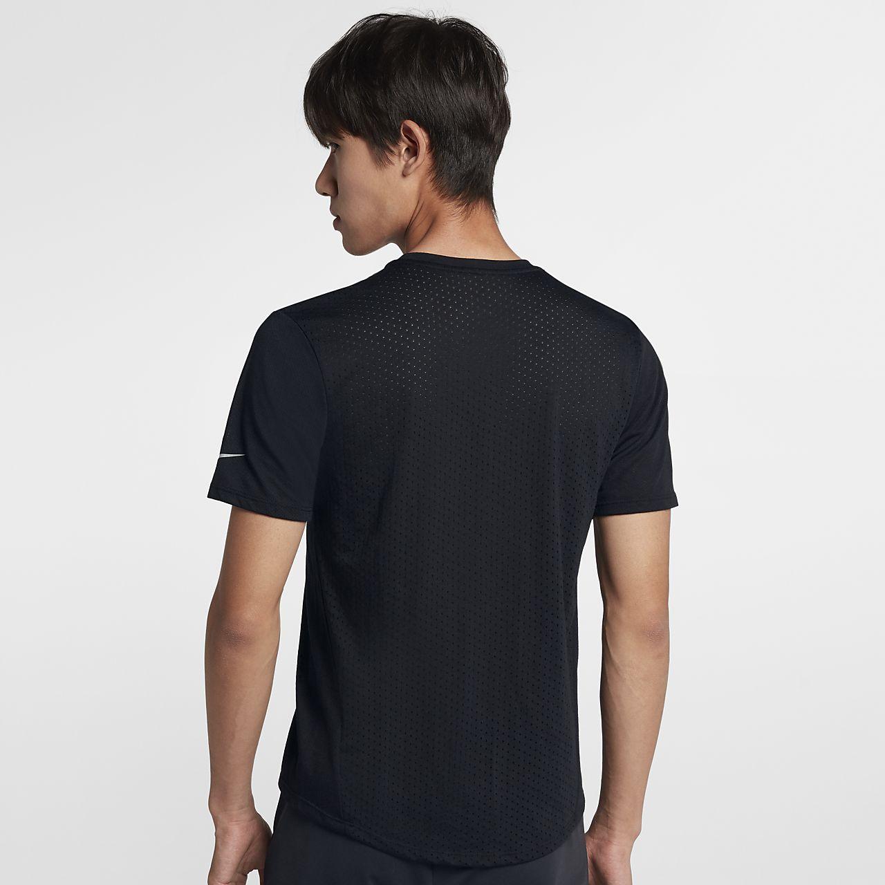 Maglia da running a manica corta Nike Rise 365 Uomo