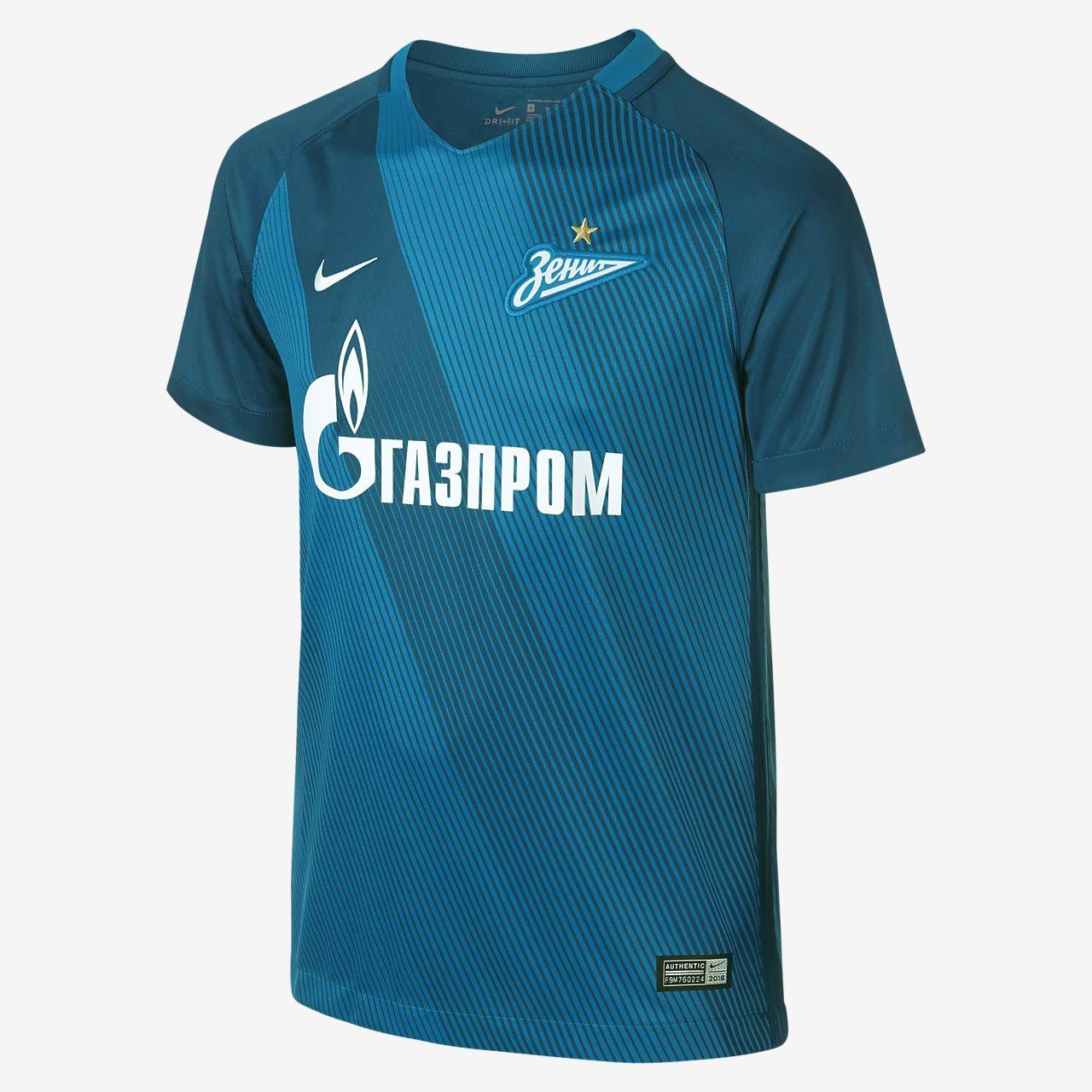 f8e801af0b26e ... Camiseta de fútbol para niños talla grande FC Zenit de local y  visitante para aficionados