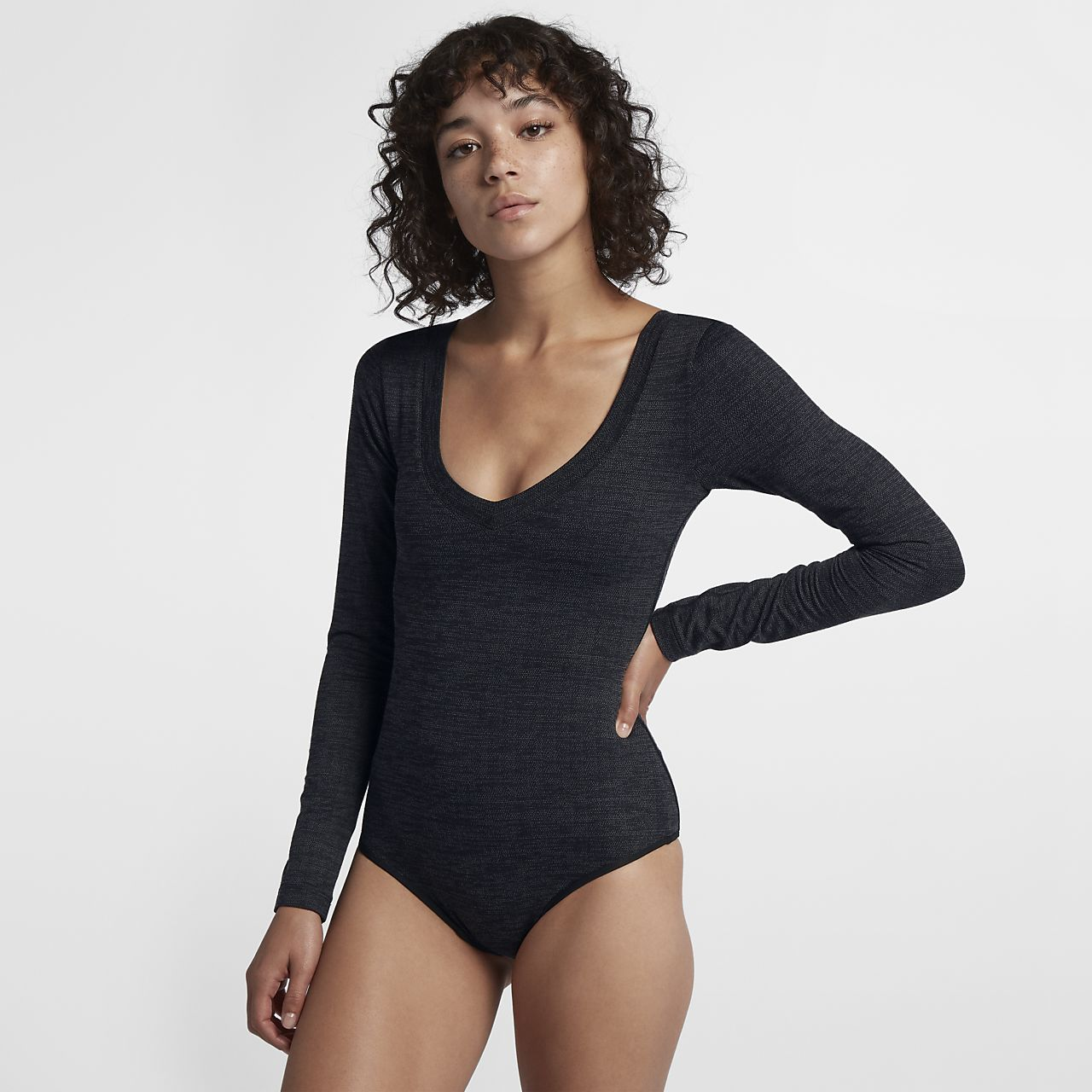 14459afeb1 Hurley Reversible Women s Long-Sleeve Bodysuit. Nike.com AU