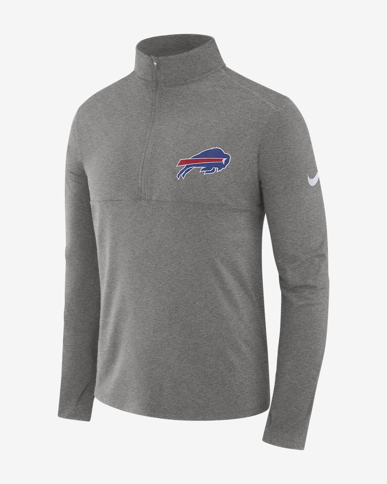 a16caa331 Nike Dri-FIT (NFL Bills) Men's Long-Sleeve 1/2-Zip Top. Nike.com