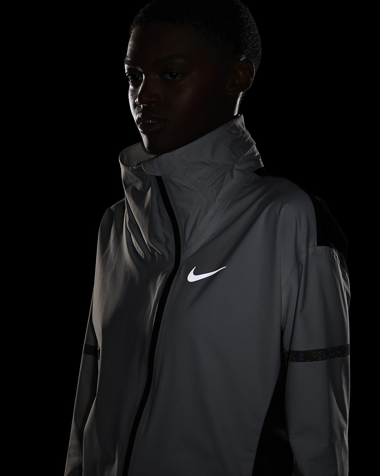 Veste à Capuche Nike AeroShield Noir