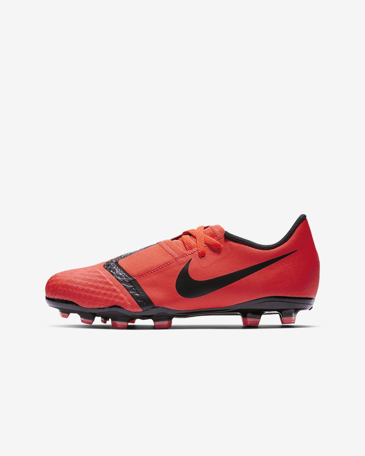 Chaussure de football à crampons pour terrain sec Nike Jr. PhantomVNM Academy FG Game Over pour Enfant plus âgé