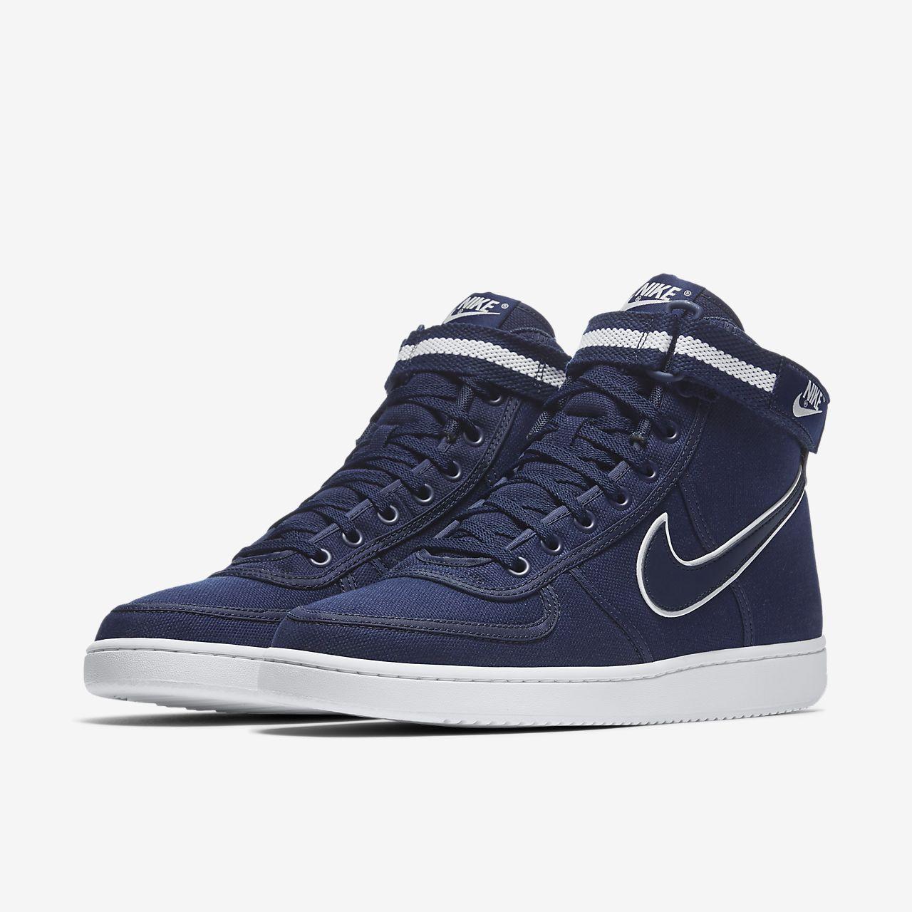 Nike Vandal High Supreme Men's Lifestyle Shoes Blue/White fZ8569S