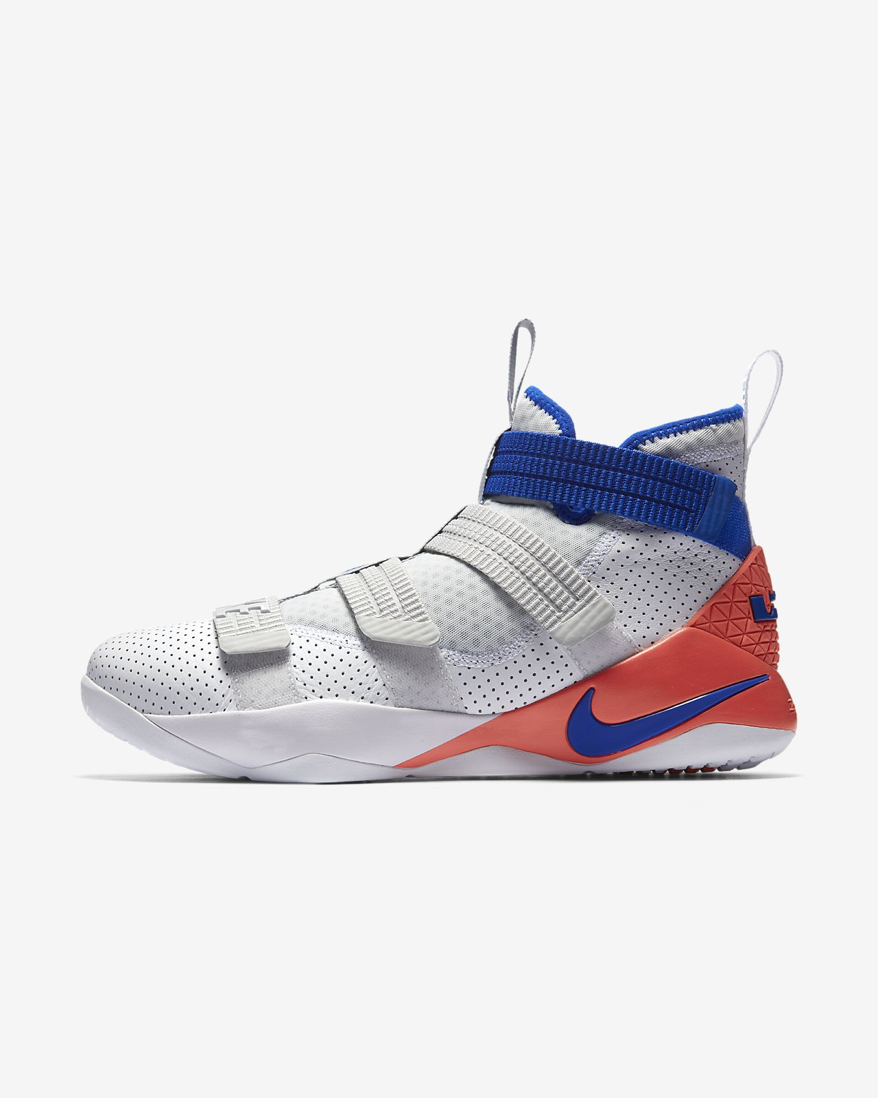 Lebron soldier 9 blue and white dress