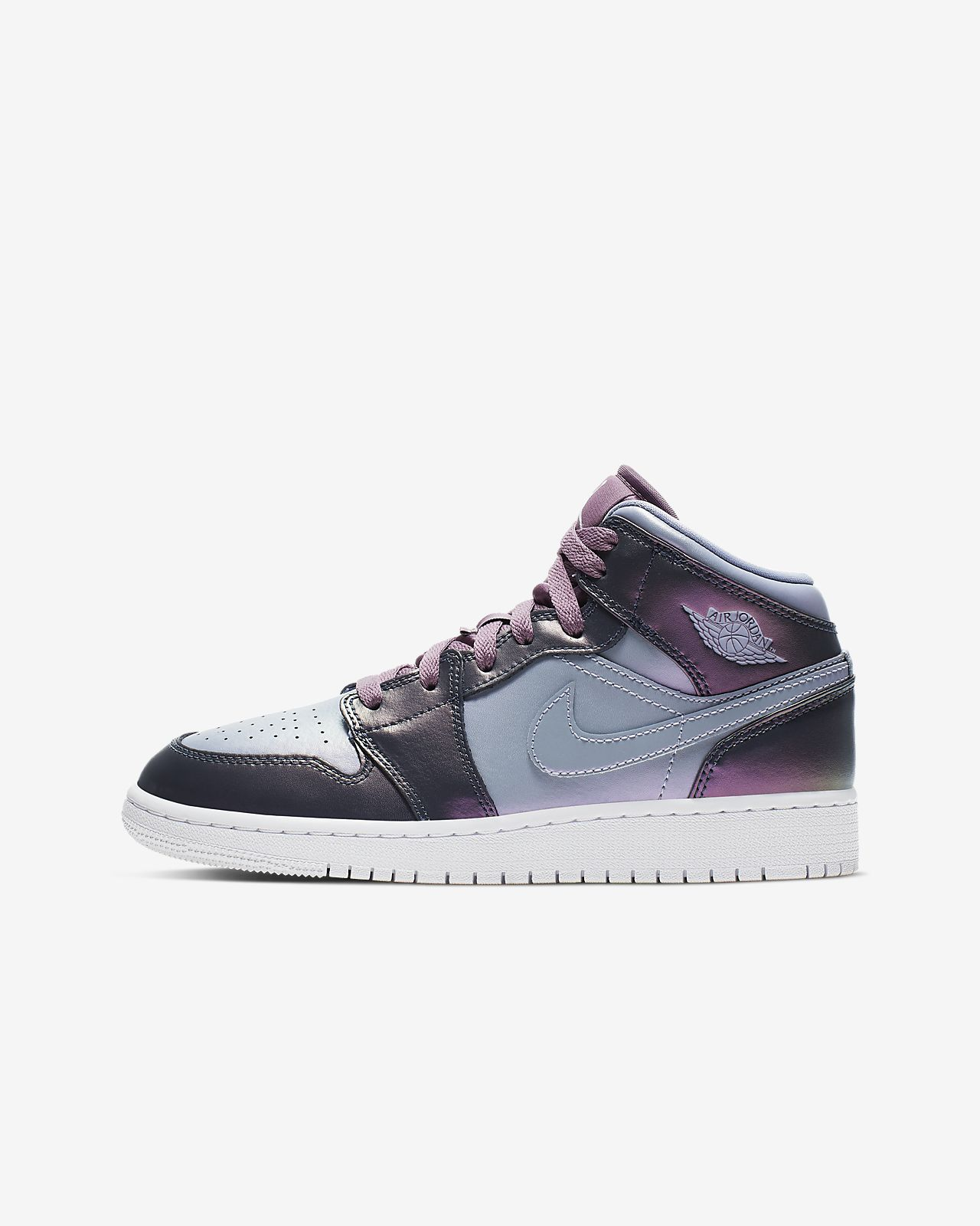 47806eca98cb0 Air Jordan 1 Mid SE Big Kids  Shoe (3.5y-9.5y). Nike.com