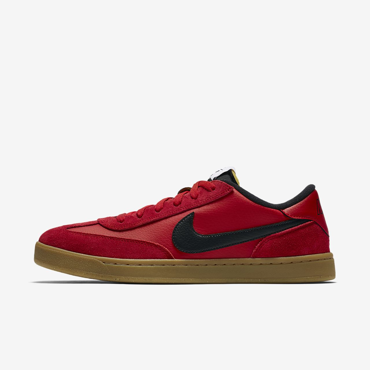 New Men's Nike SB FC Classic Size 6.5 Team Red White Skateboarding Shoes