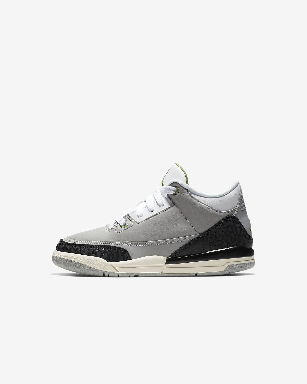 Air Jordan Retro 3 小童鞋款