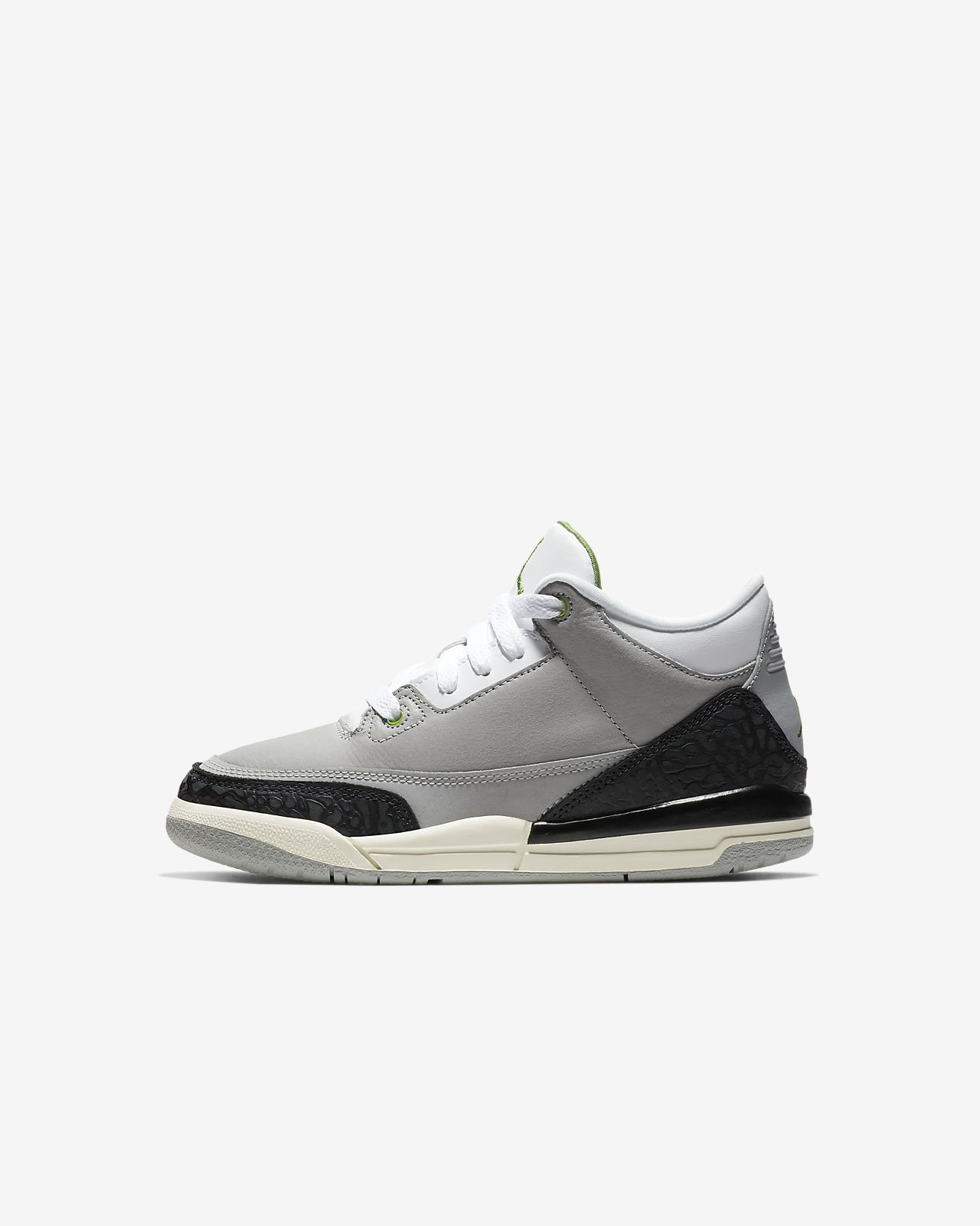 meet 61c8a b1f2c Air Jordan Retro 3 Younger Kids' Shoe