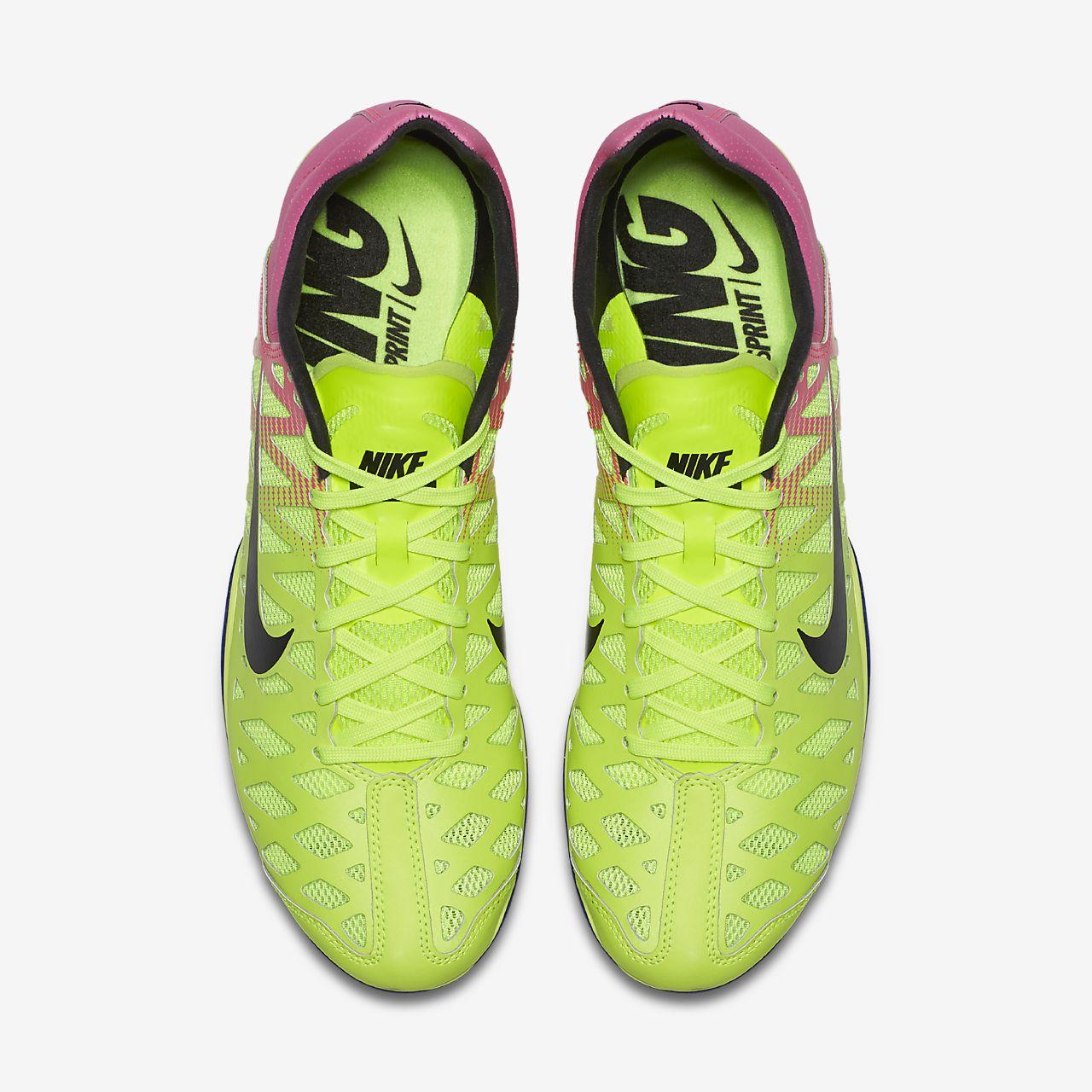 6896b22a8bd47 Nike Zoom Maxcat 4 Sprint Running Spikes Mens Yellow