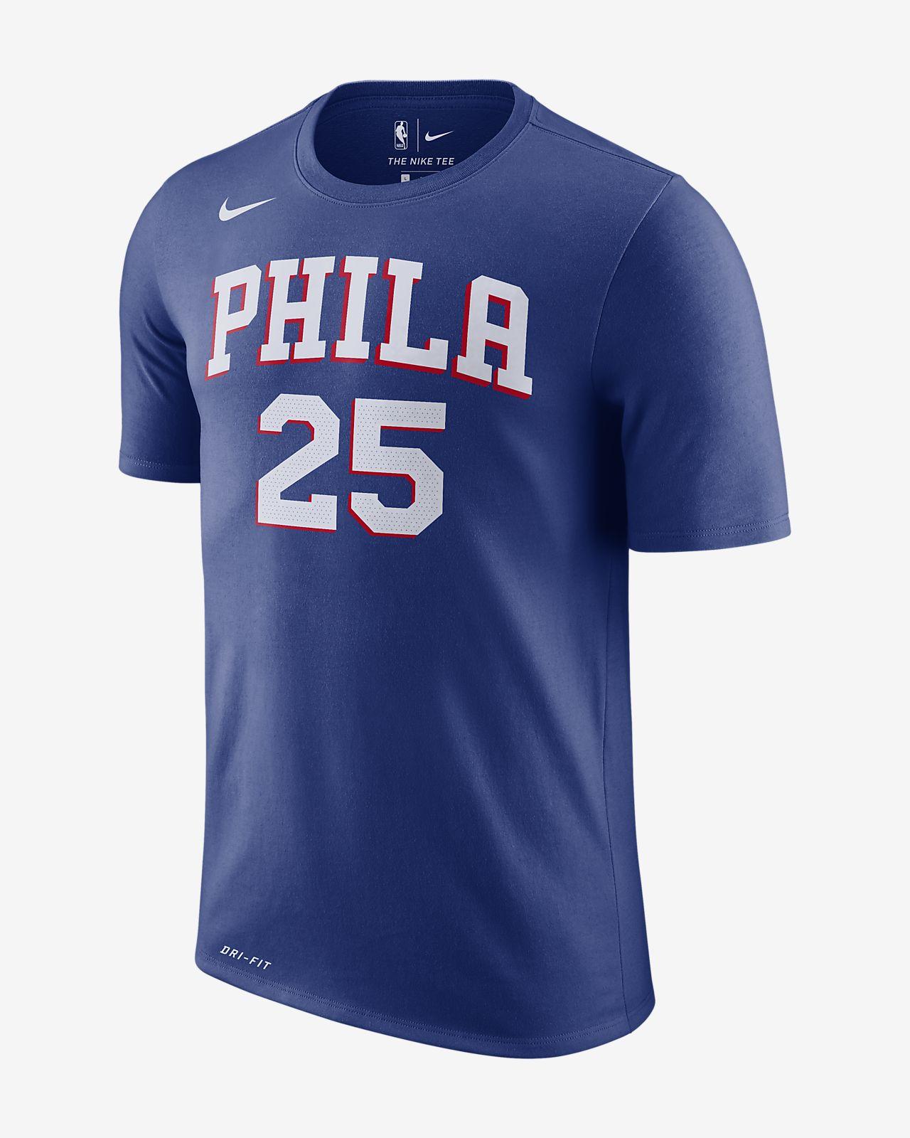 hot sale online eb438 ba5a1 Ben Simmons Philadelphia 76ers Nike Dri-FIT Men's NBA T-Shirt