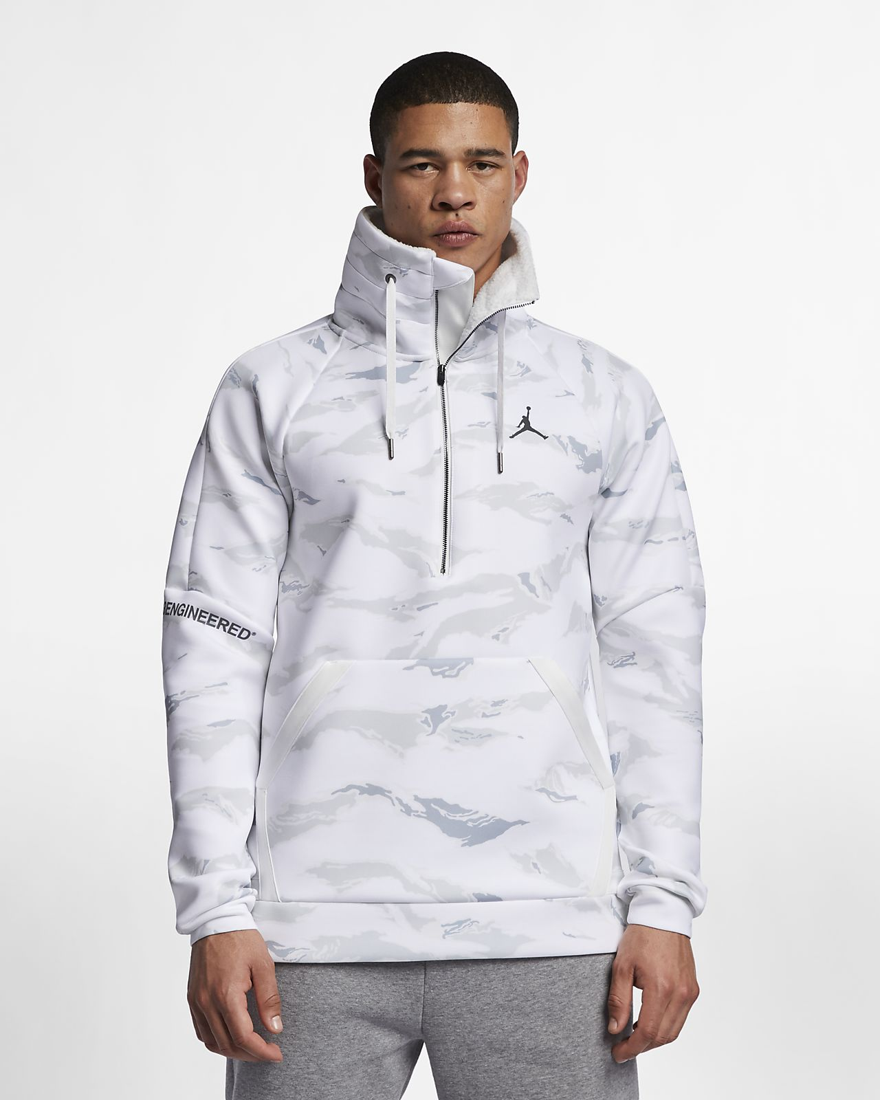 70ae893f0ab284 Jordan Sportswear Flight Tech Men s Camo Anorak. Nike.com AU