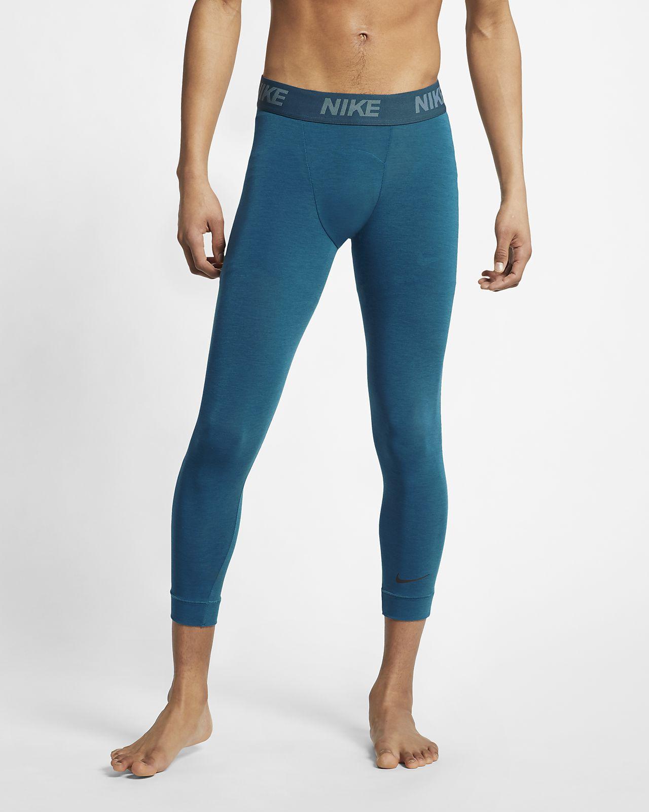 Ανδρικό κολάν προπόνησης γιόγκα με μήκος 3/4 Nike Dri-FIT