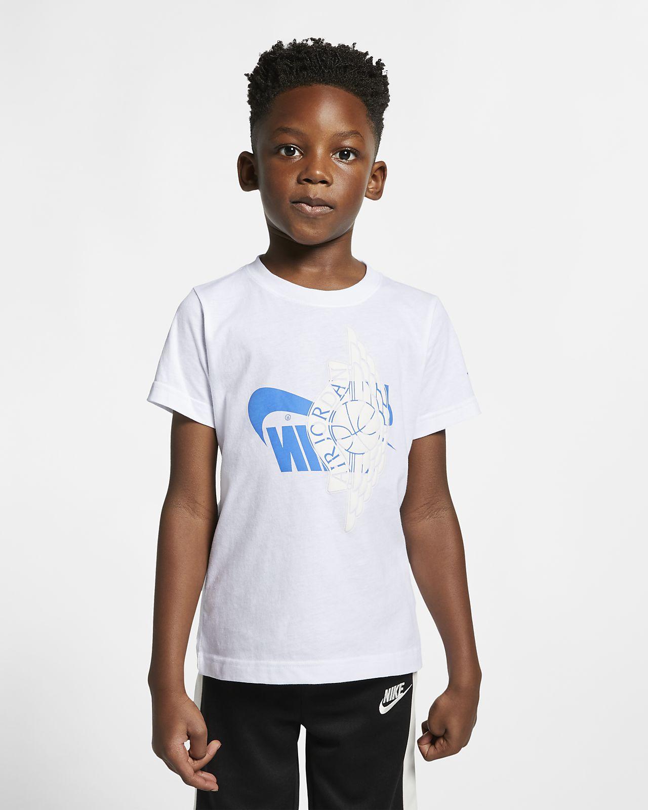 Jordan Sportswear Wings póló kisebb gyerekeknek