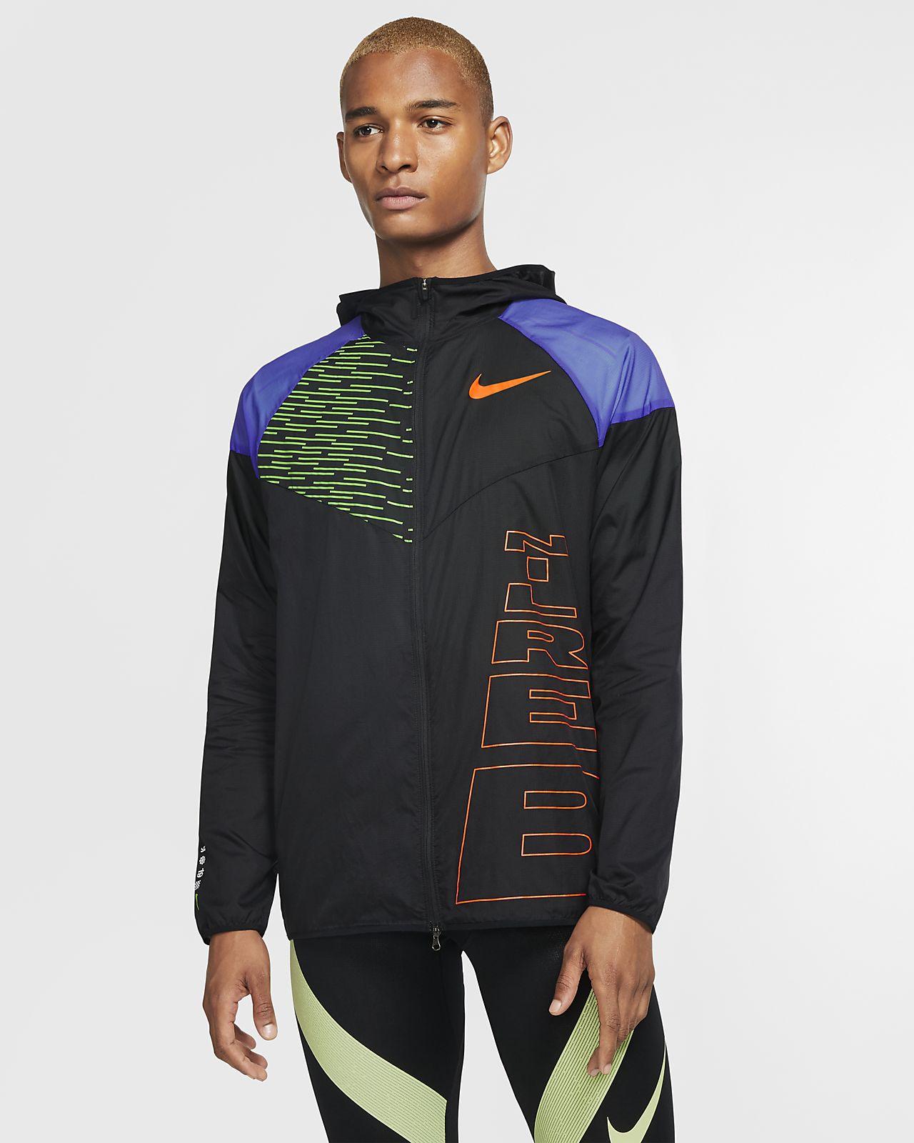 Ανδρικό τζάκετ Windrunner Nike Running Berlin