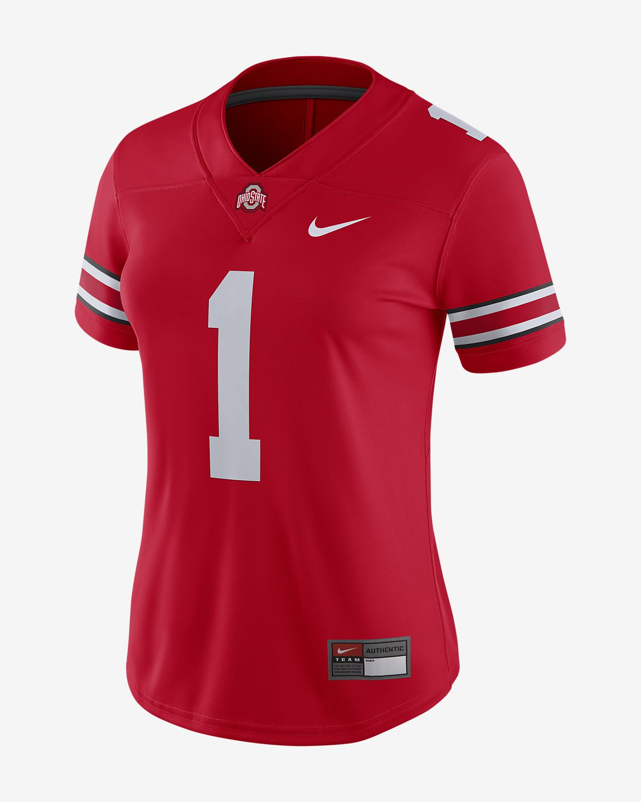 Nike College Dri-FIT Game (Ohio State) Women's Football Jersey