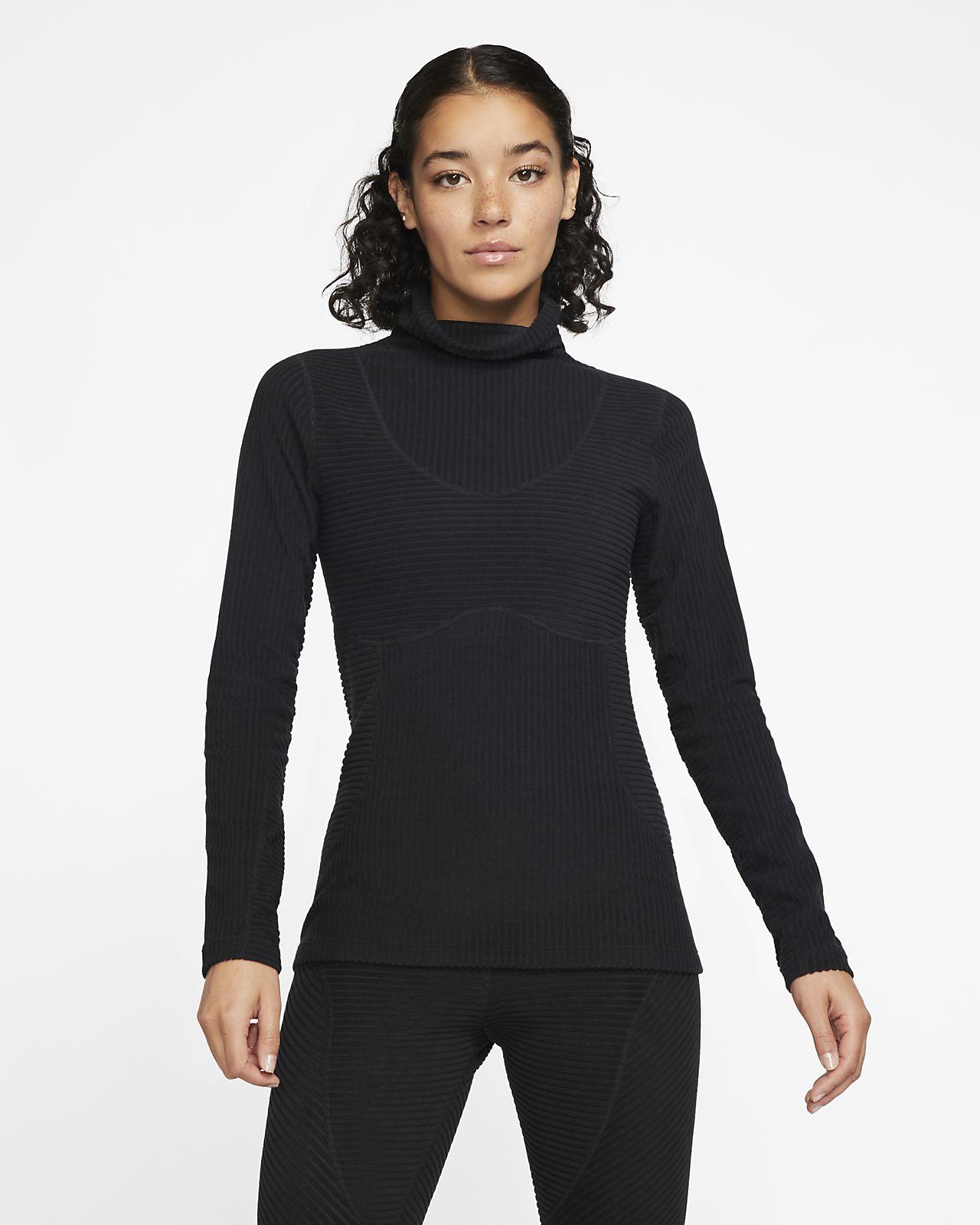 Parte superior de tejido velour para mujer Nike Pro HyperWarm
