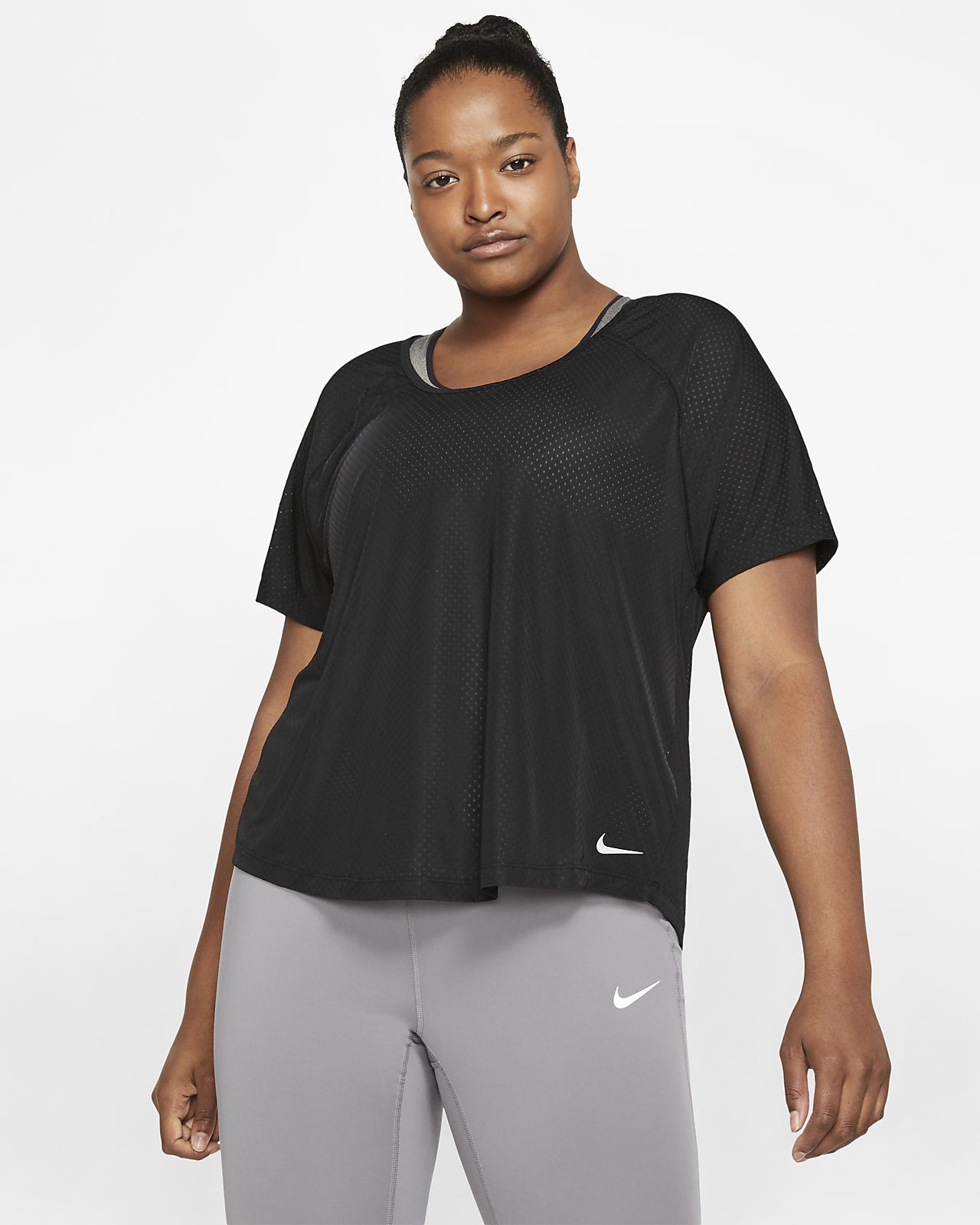 Nike Breathe Miler Women's Running Top (Plus Size)