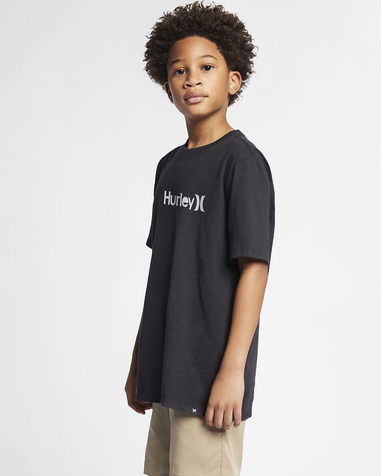 Hurley Premium One And Only Solid Erkek Çocuk Tişörtü