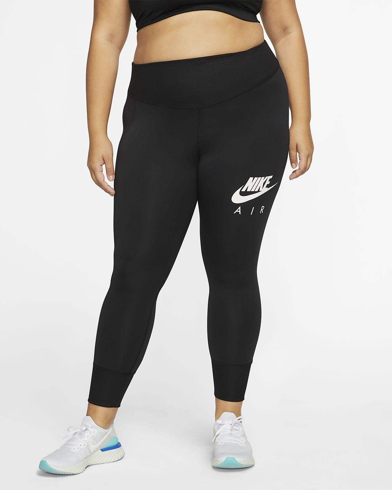 Damskie legginsy treningowe 7/8 Nike Fast (duże rozmiary)